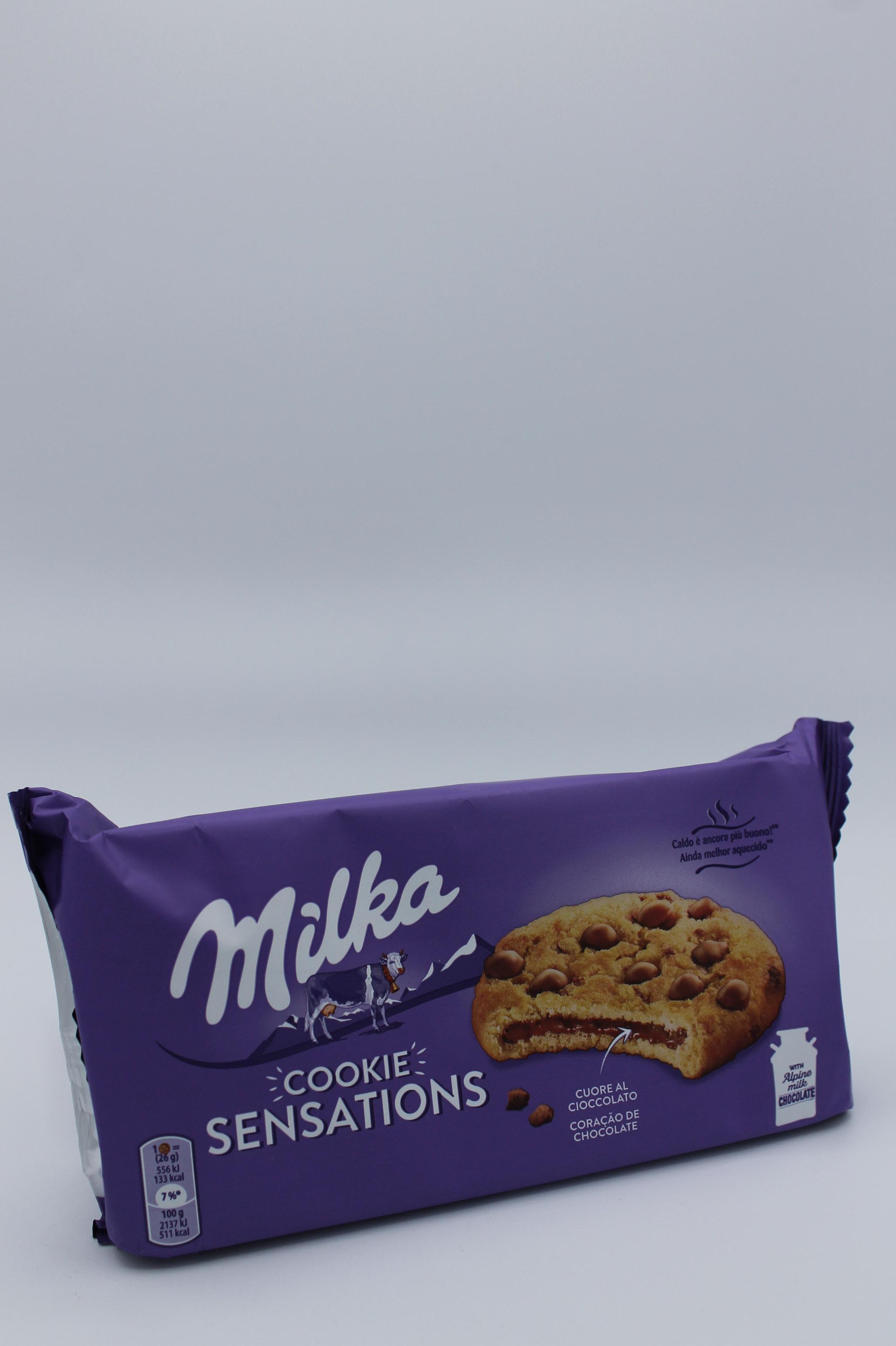 Milka cookie sensations 156 gr.