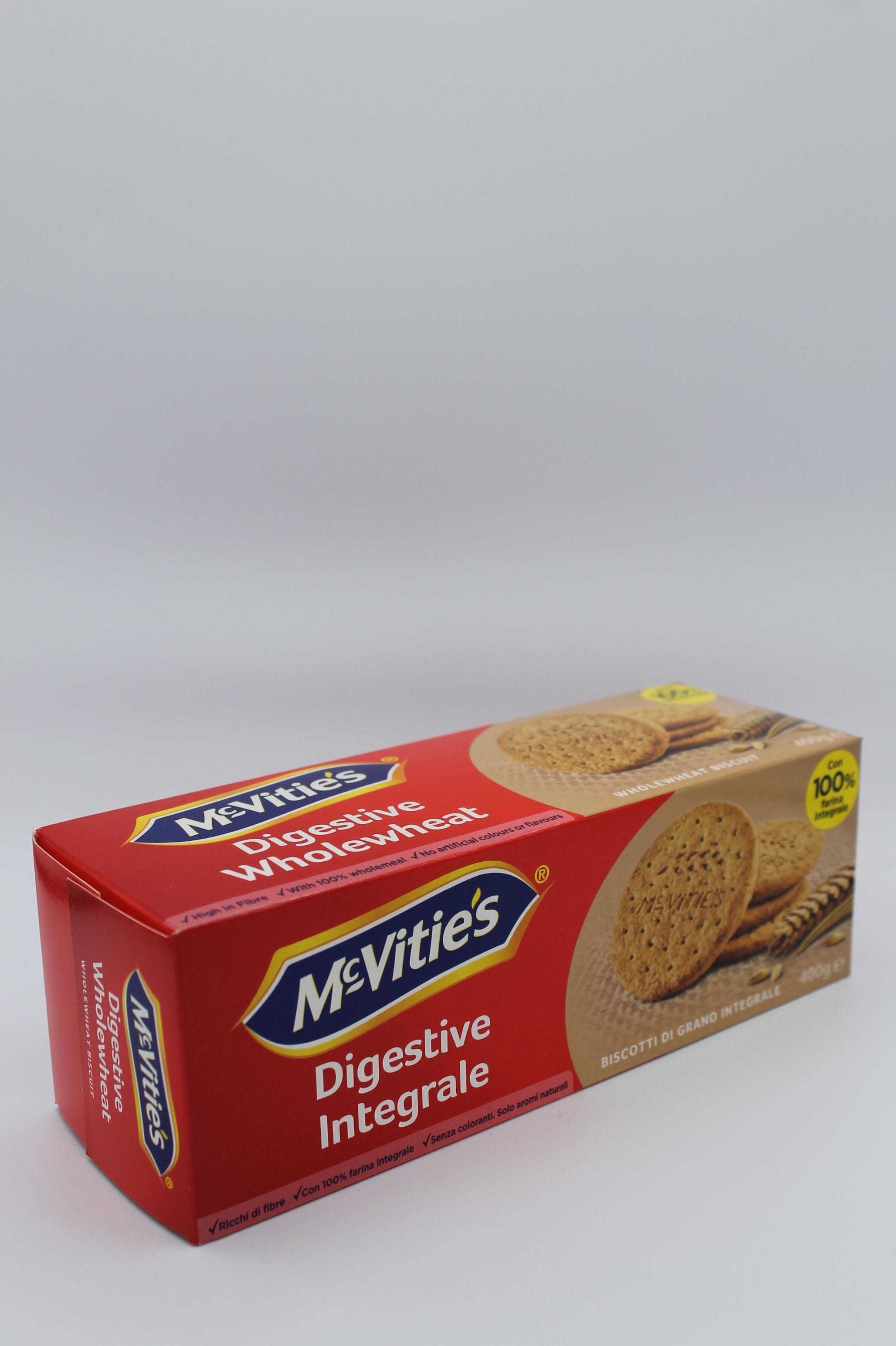 McVitie's biscotti integrali con farina integrale 400 gr.