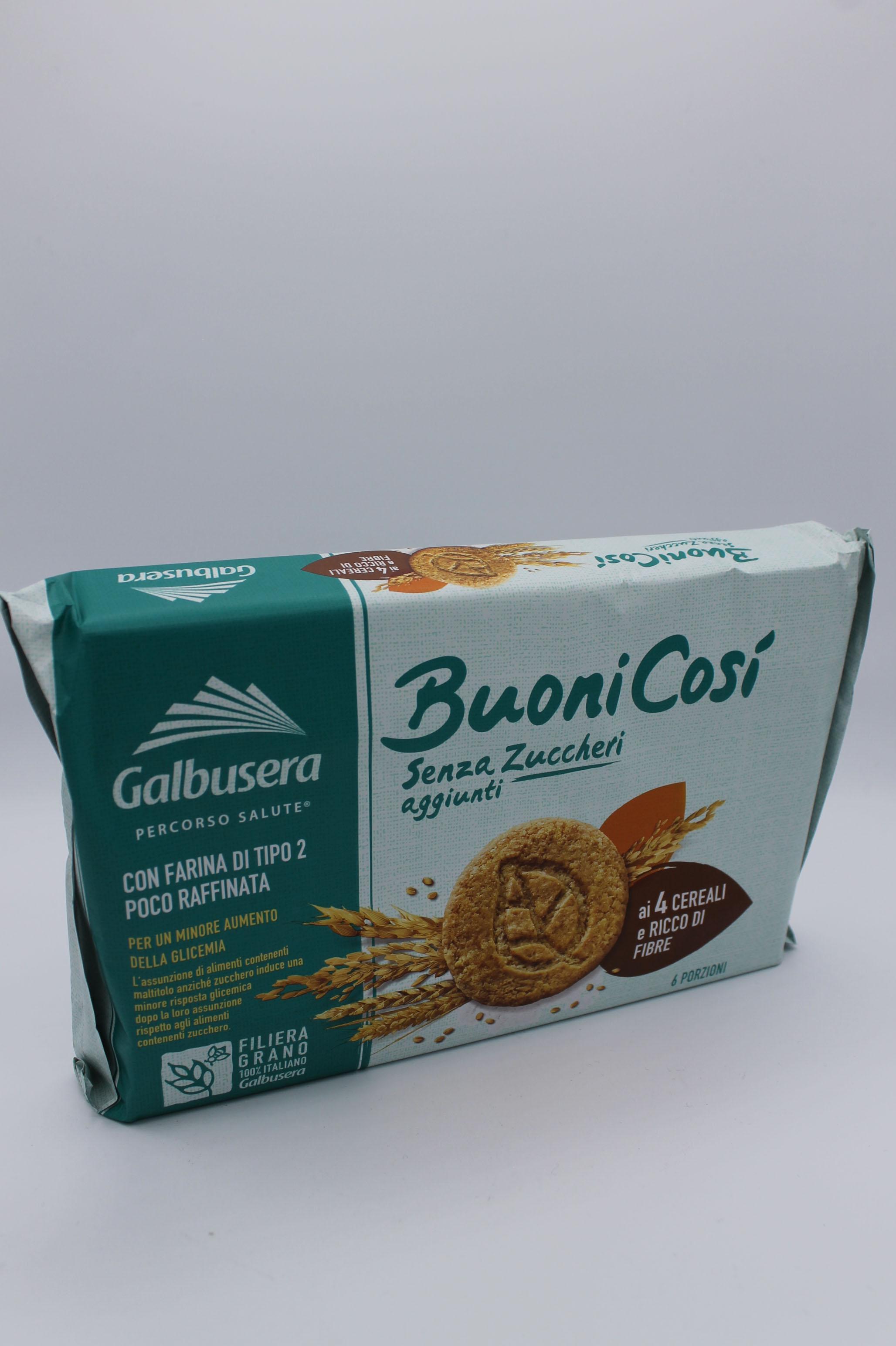 Galbusera biscotti ai 4 cereali 300 gr.