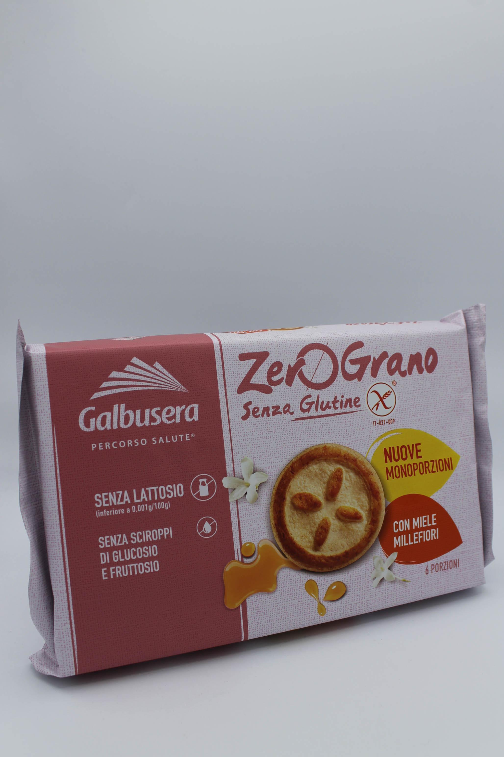 Galbusera biscotti al miele senza glutine 220 gr.