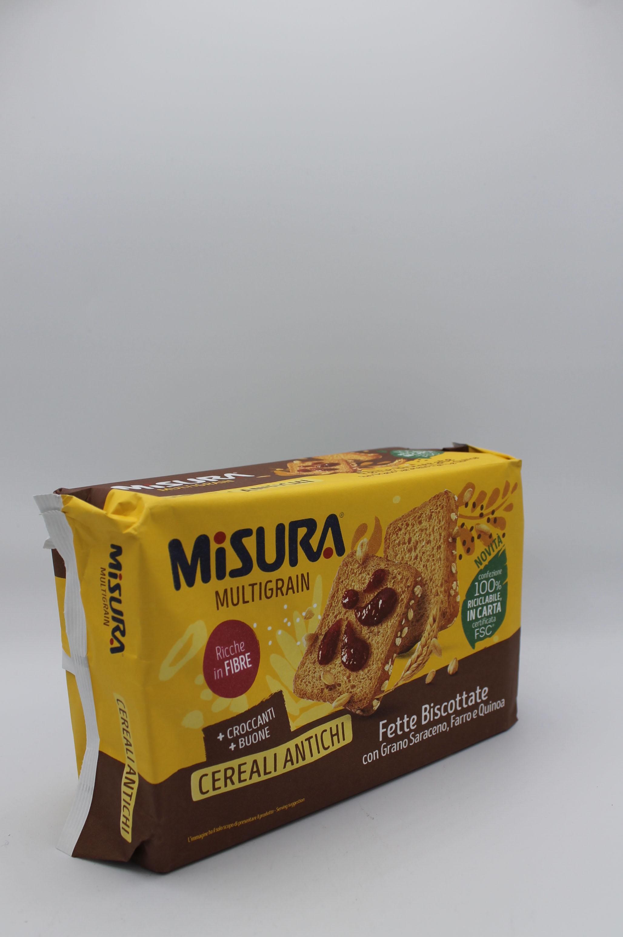 Misura fette biscottate cereali antichi 320 gr.