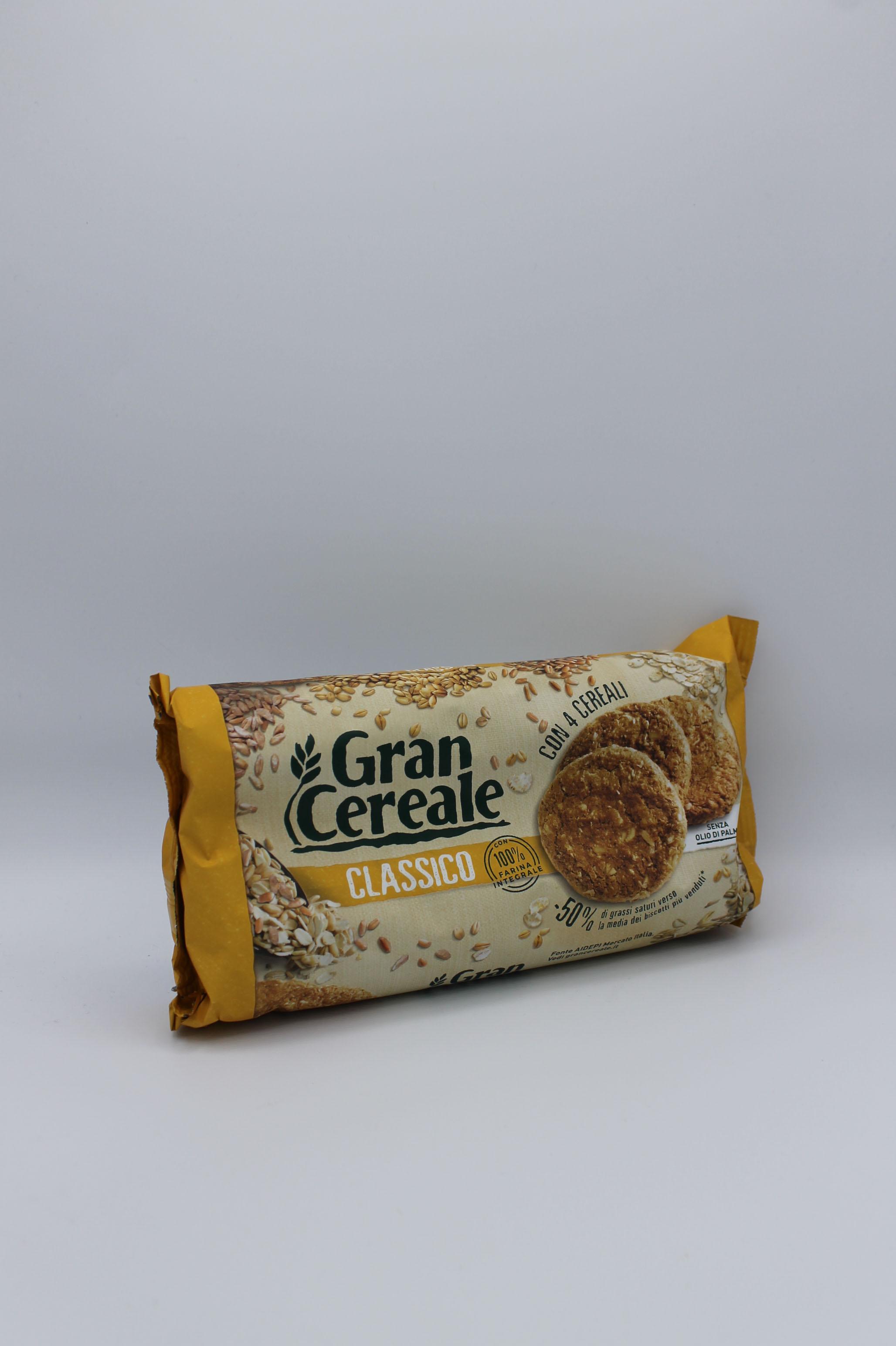 Mulino bianco biscotti gran cereale classici 500 gr.