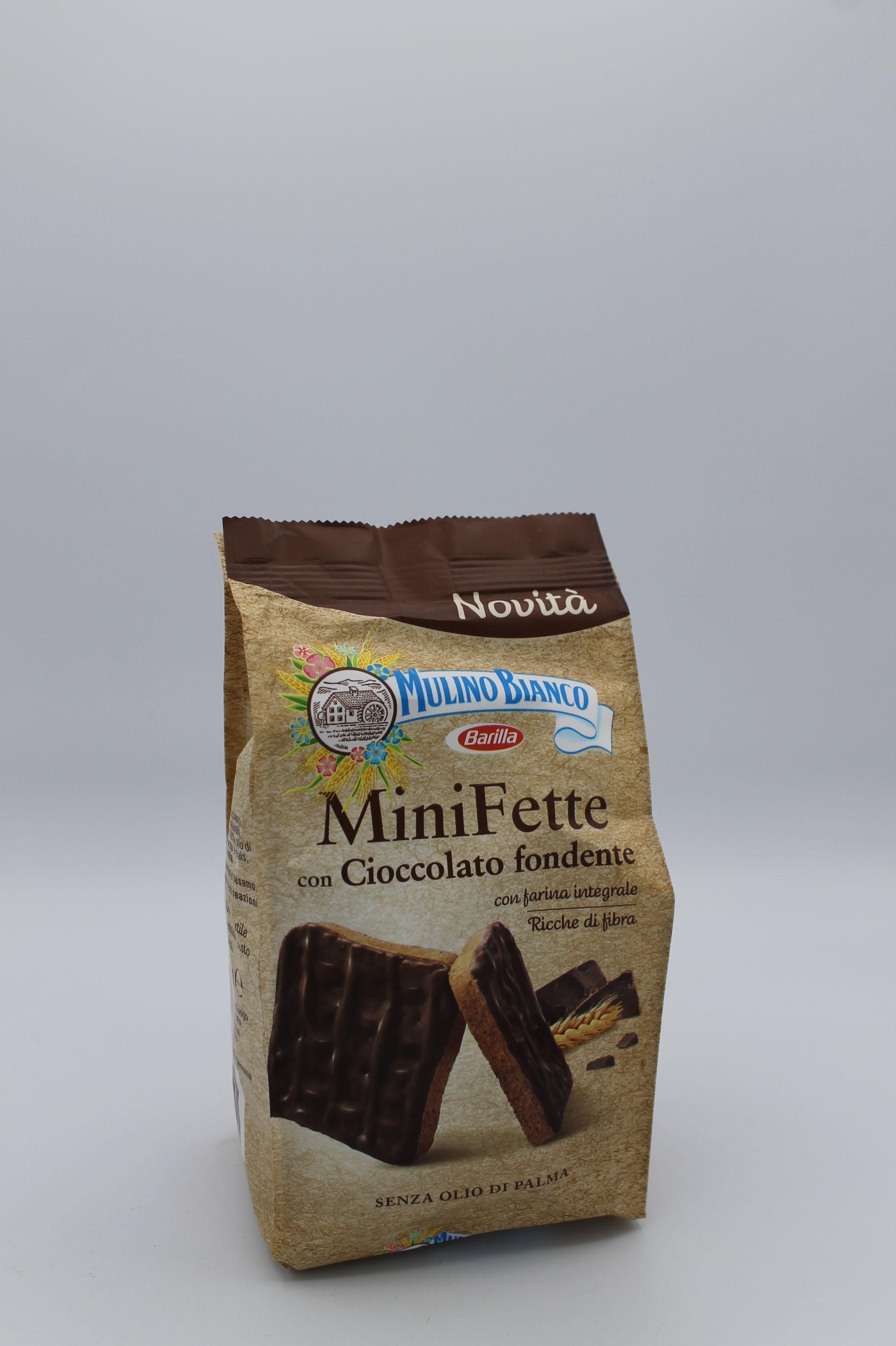 Barilla mini fette integrali cioccolato fondente 110 gr.