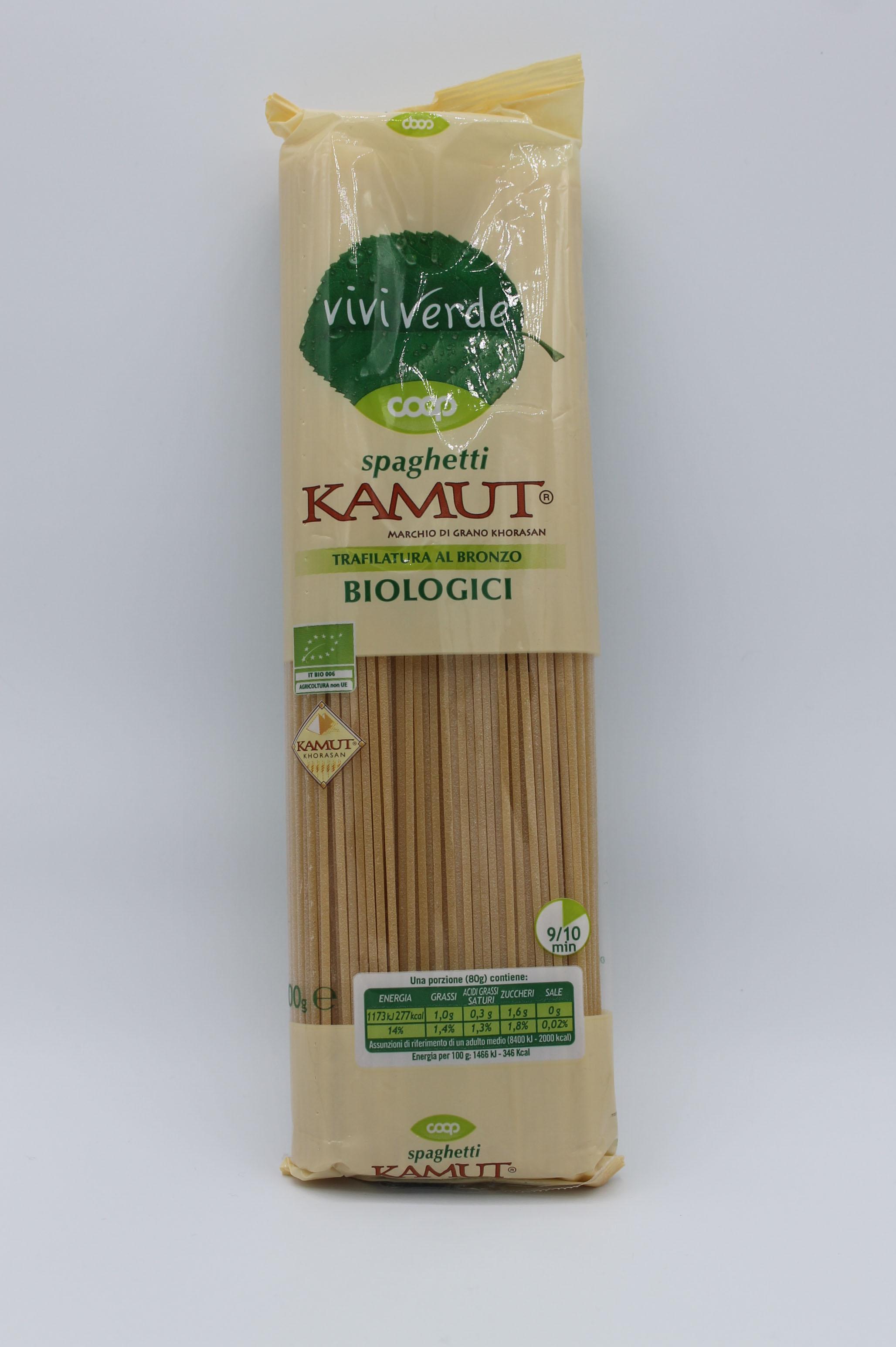 Viviverde coop spaghetti kamut 500gr.