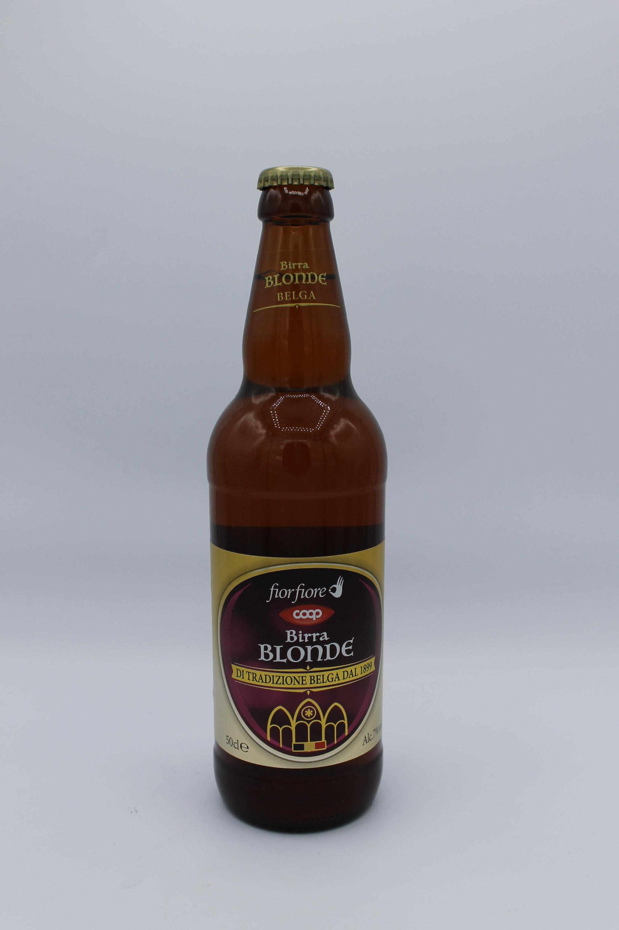 Fior fiore coop birra blonde 500ml.