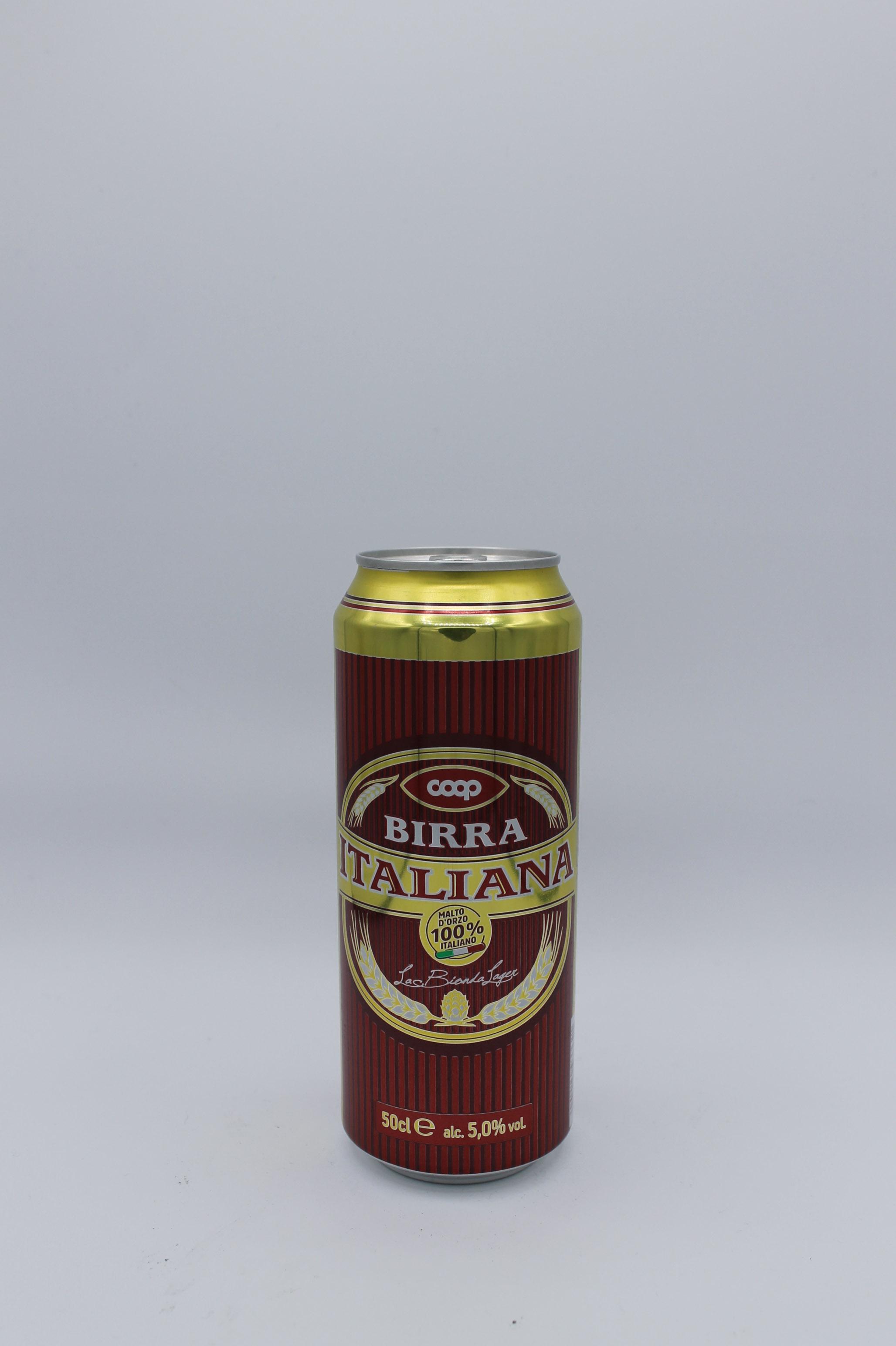 Coop birra lattina 500ml.