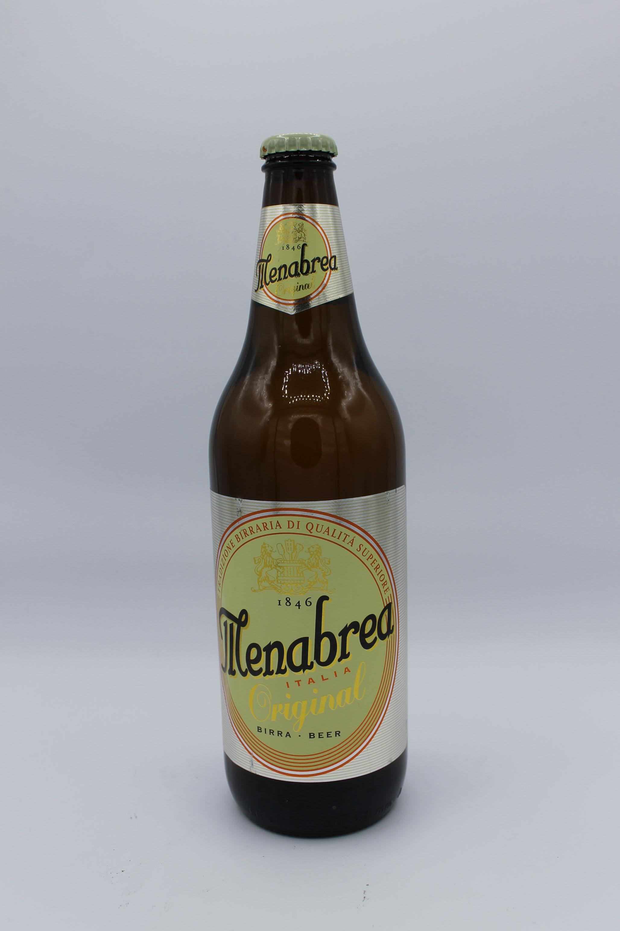 Menabrea birra chiara 660ml.