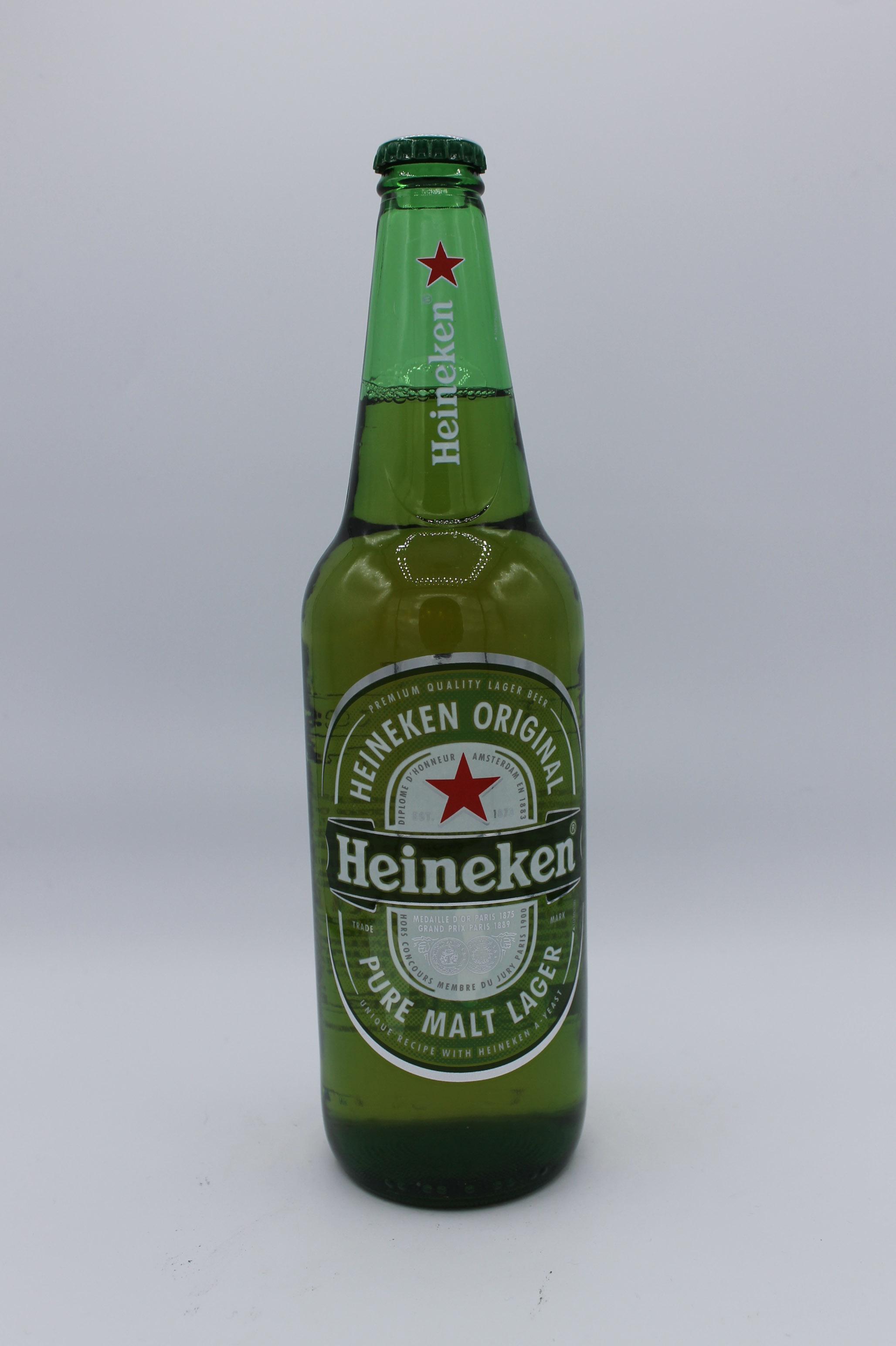 Heineken birra bottiglia 660ml.