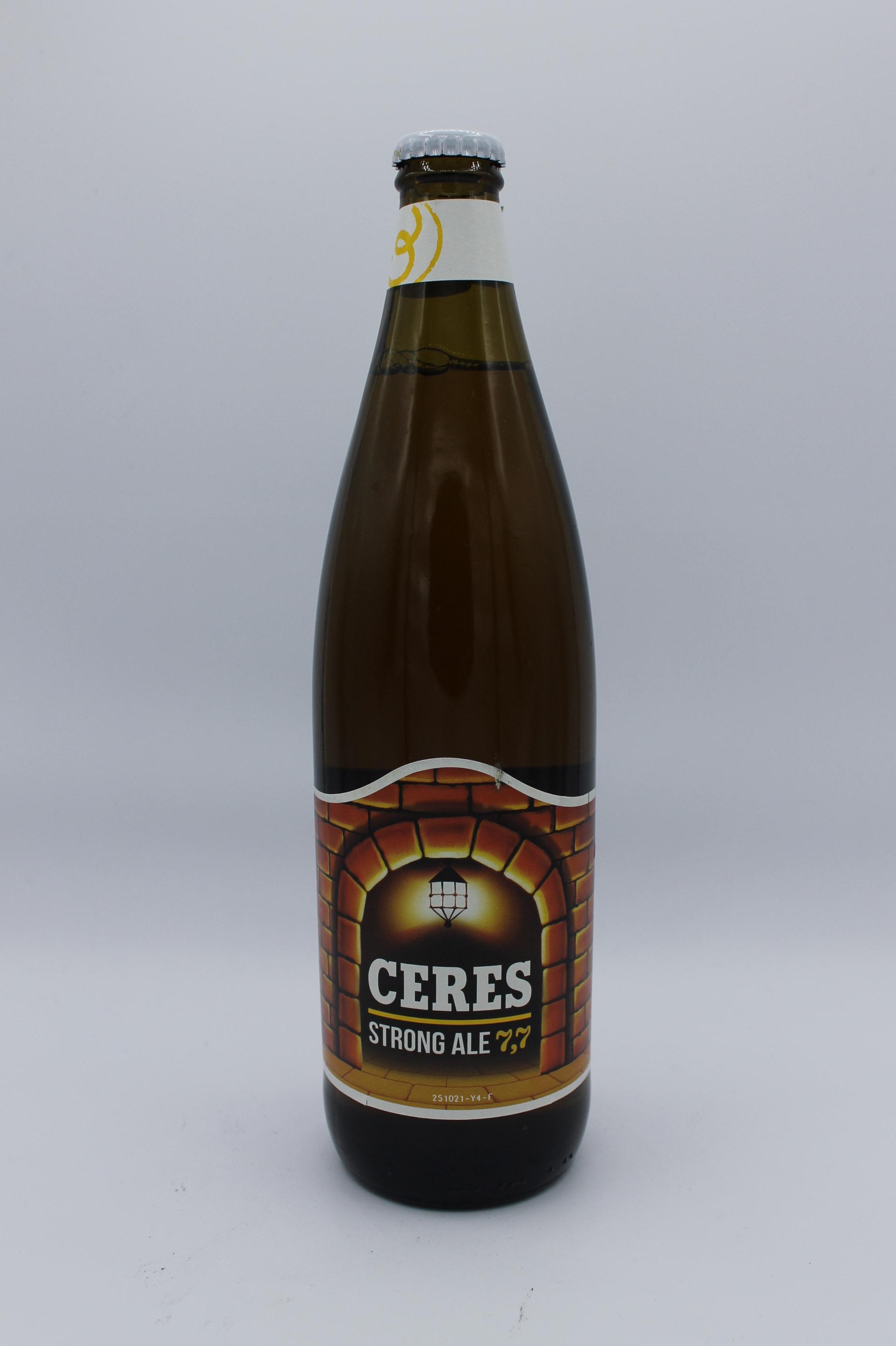 Ceres birra doppio malto 660ml.