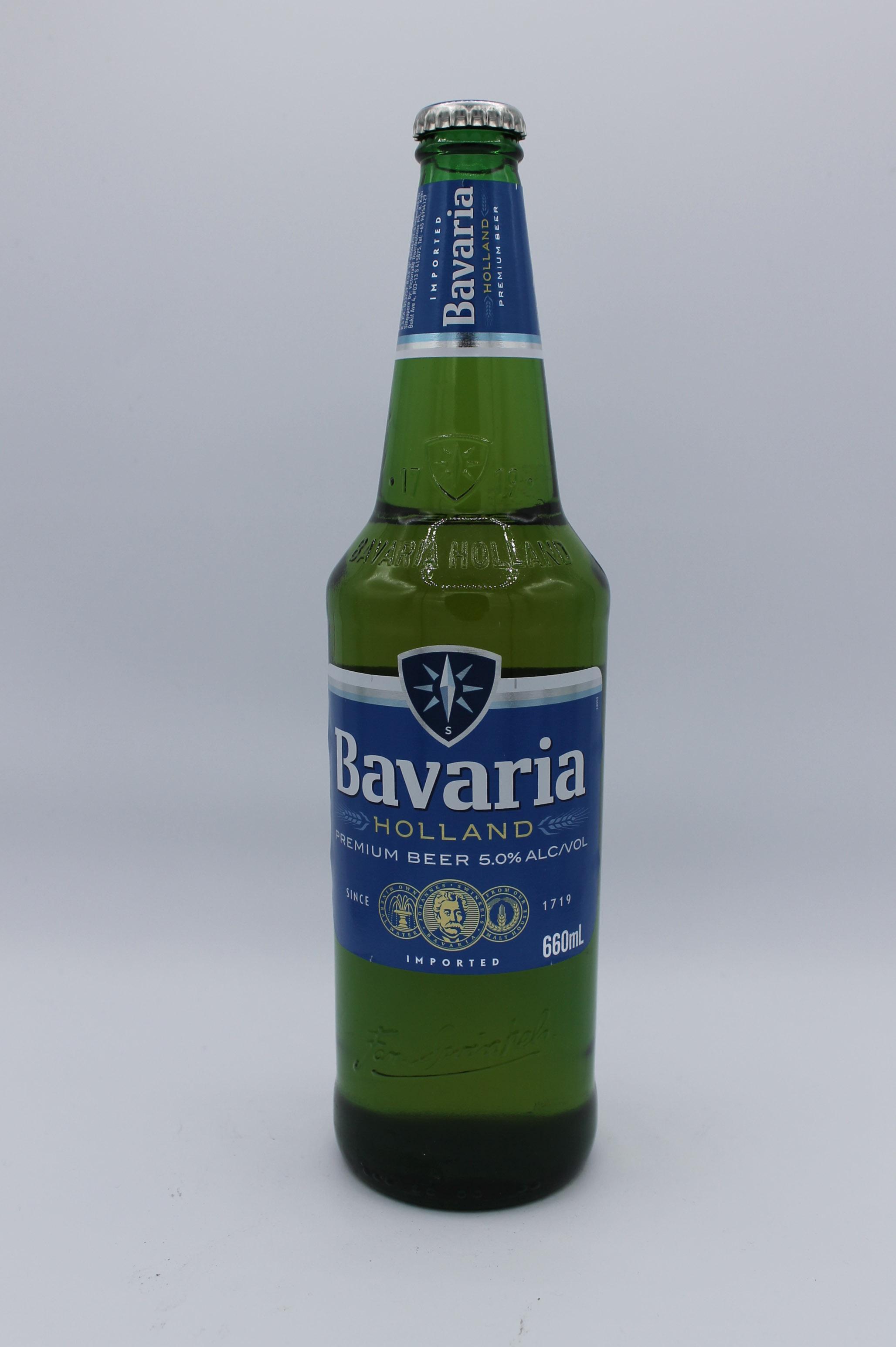 Bavaria birra premium bottiglia 660ml.