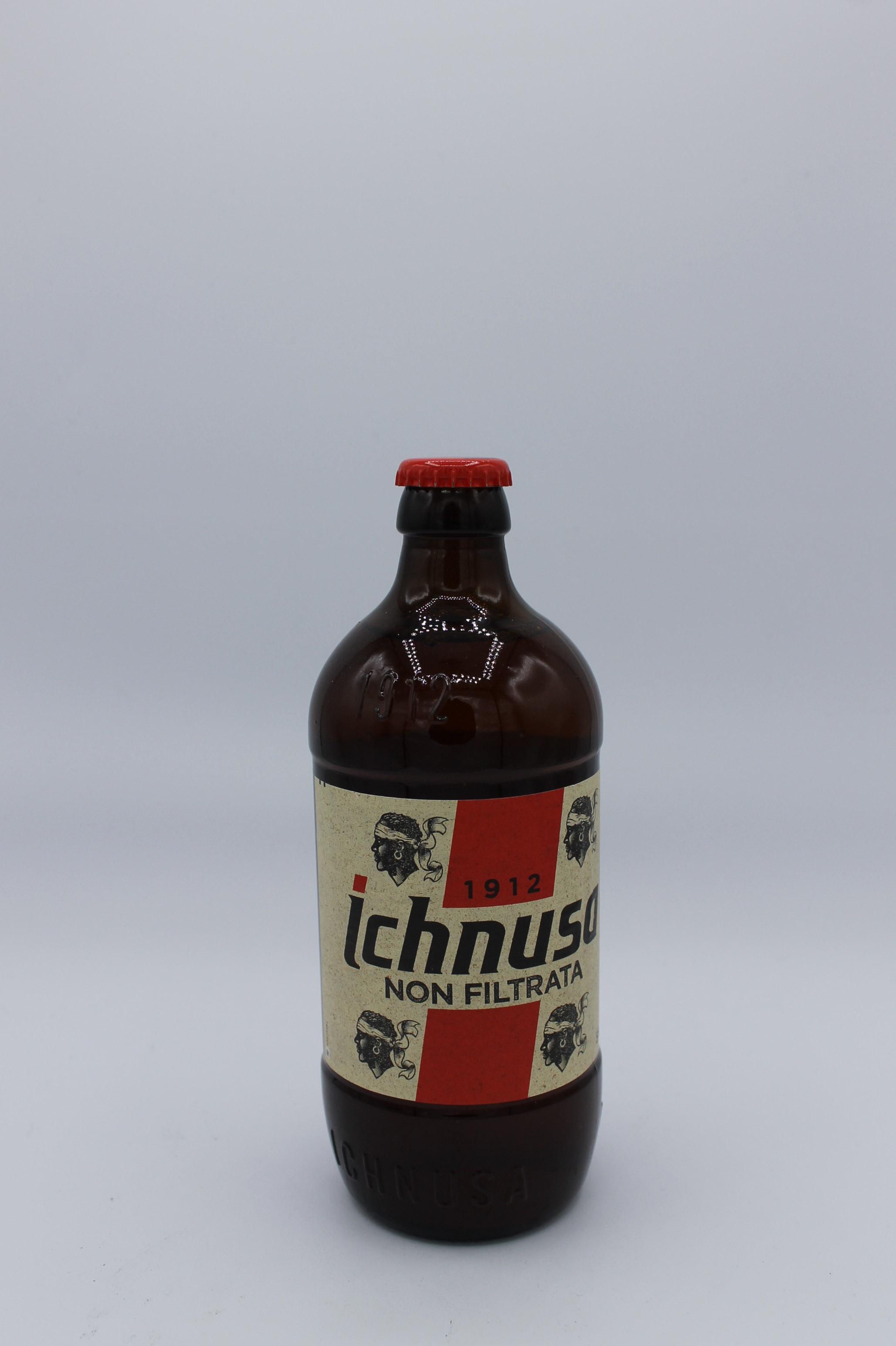 Ichnusa birra non filtrata 500ml.