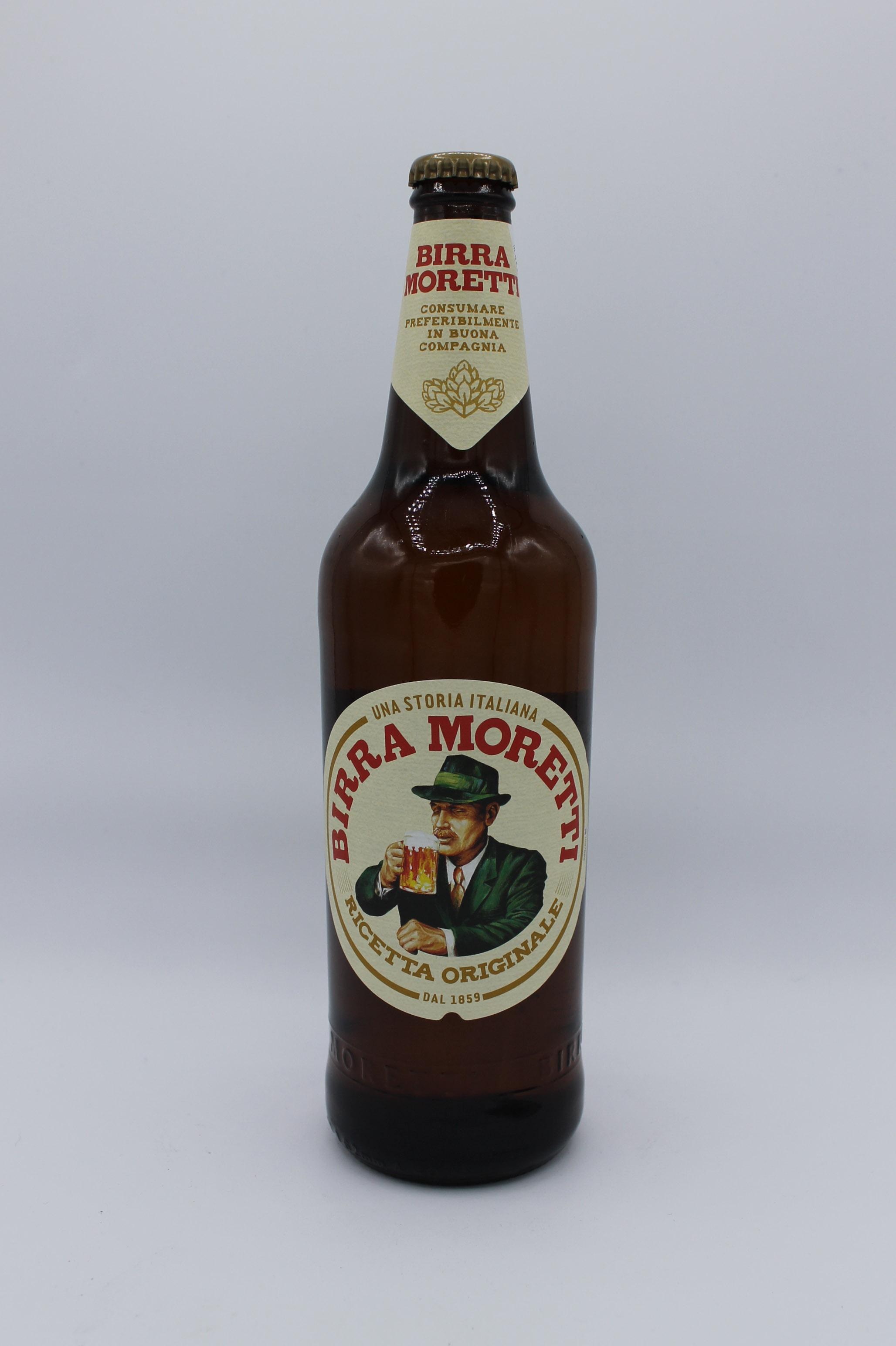Birra moretti ricetta originale 660ml.