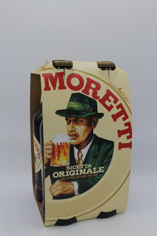 Birra Moretti birra 4x330ml.