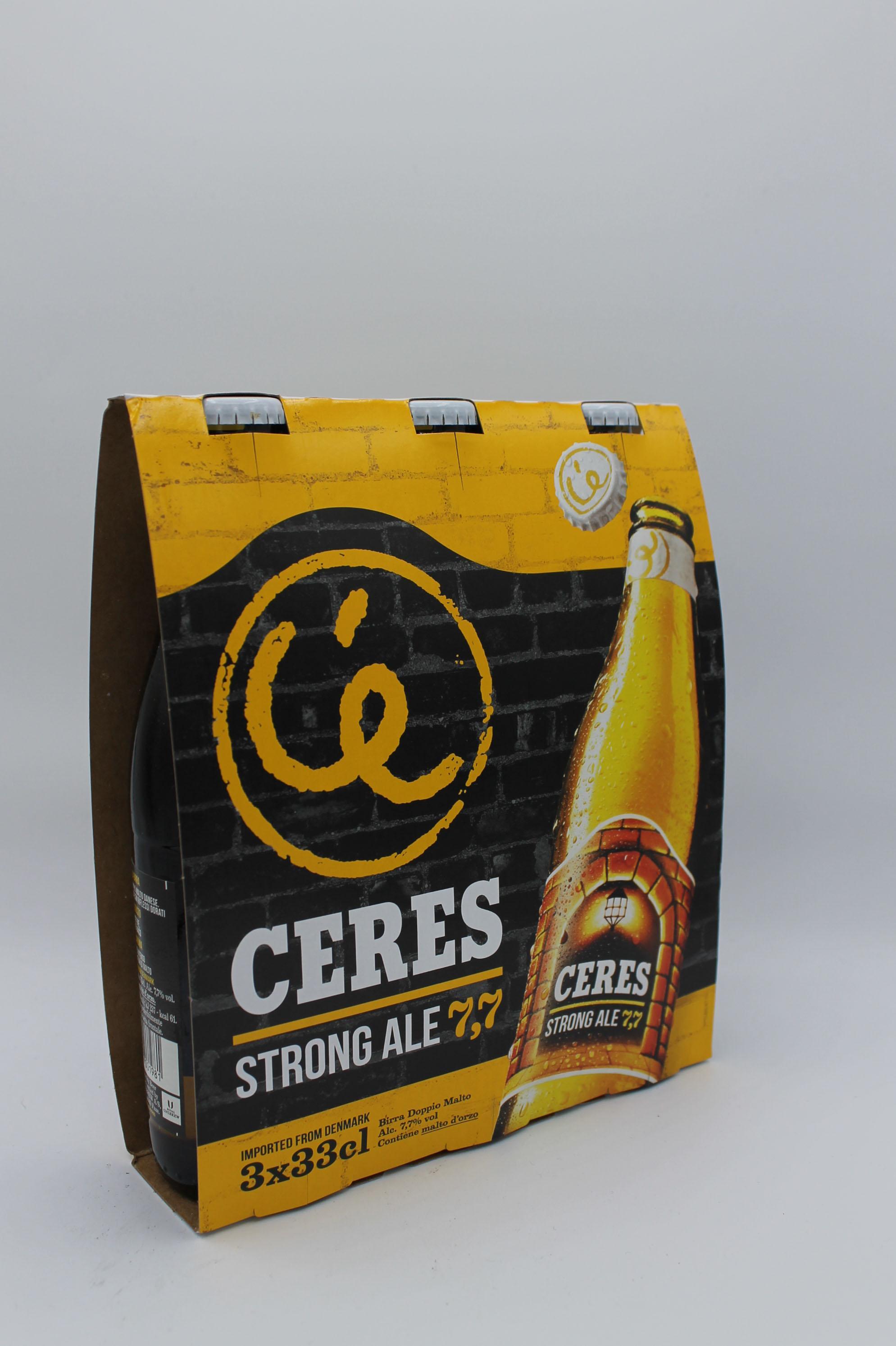 Ceres birra strong ale 3x330ml.