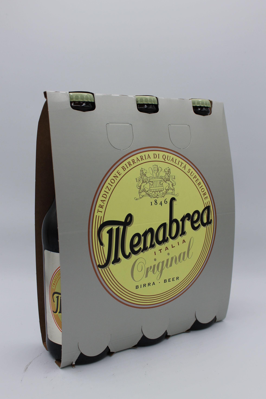 Menabrea birra chiara 3x330ml.