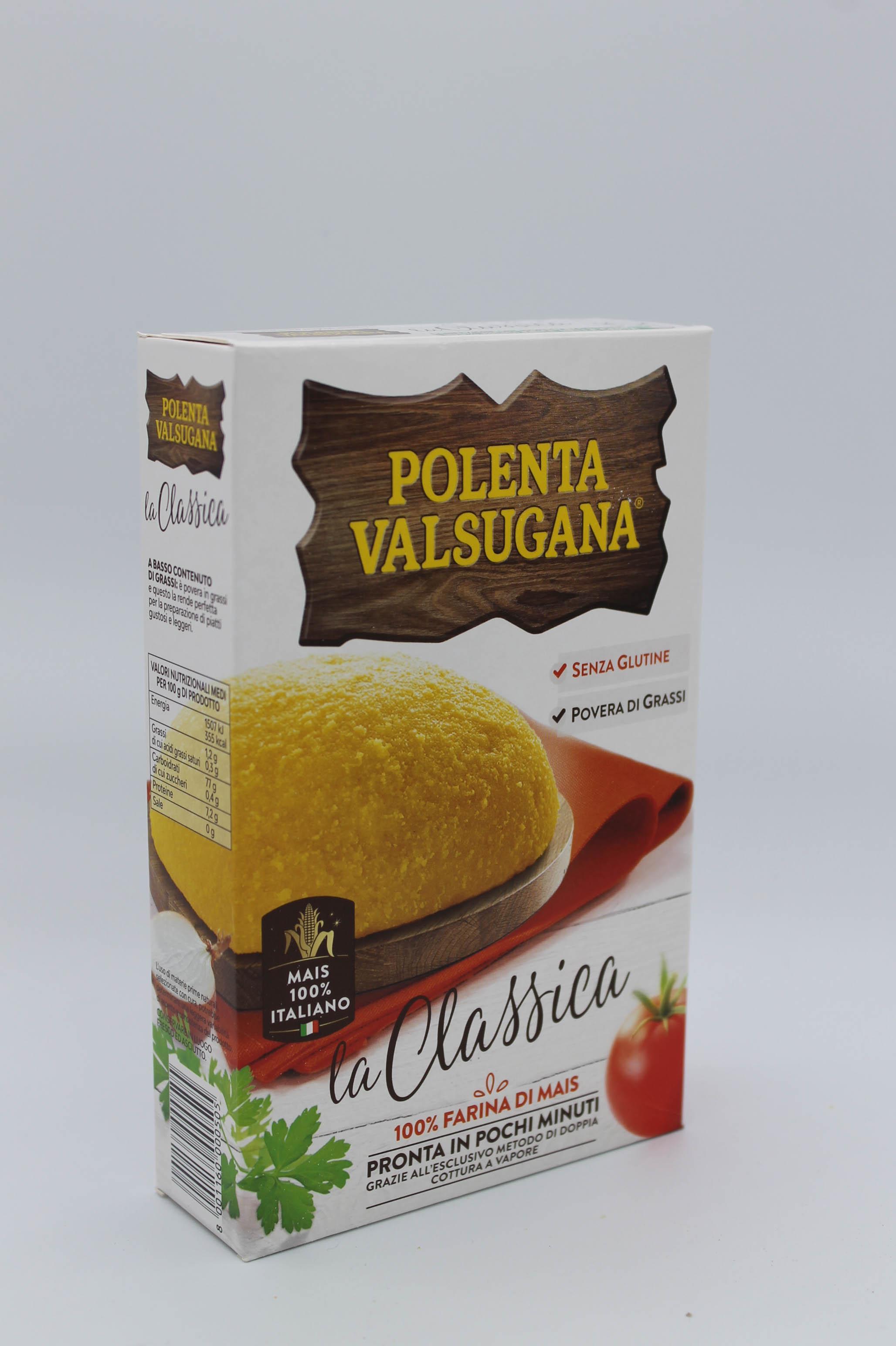 Polenta Valsugana pronta 375gr.