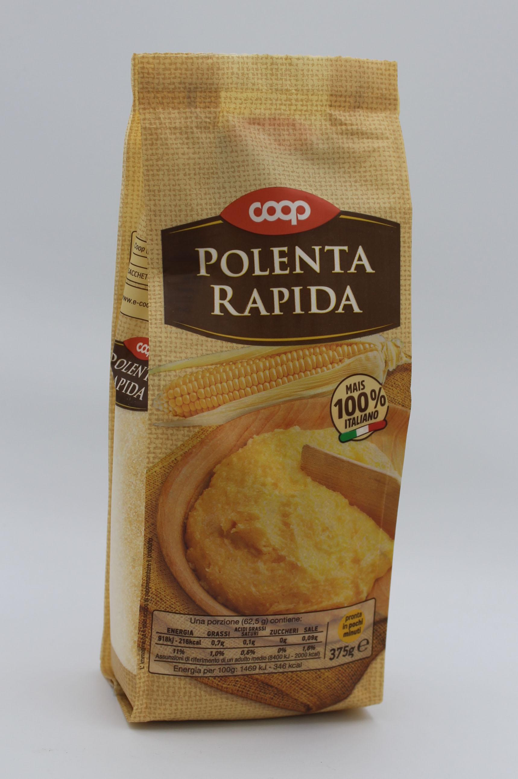 Coop polenta rapida 375gr.
