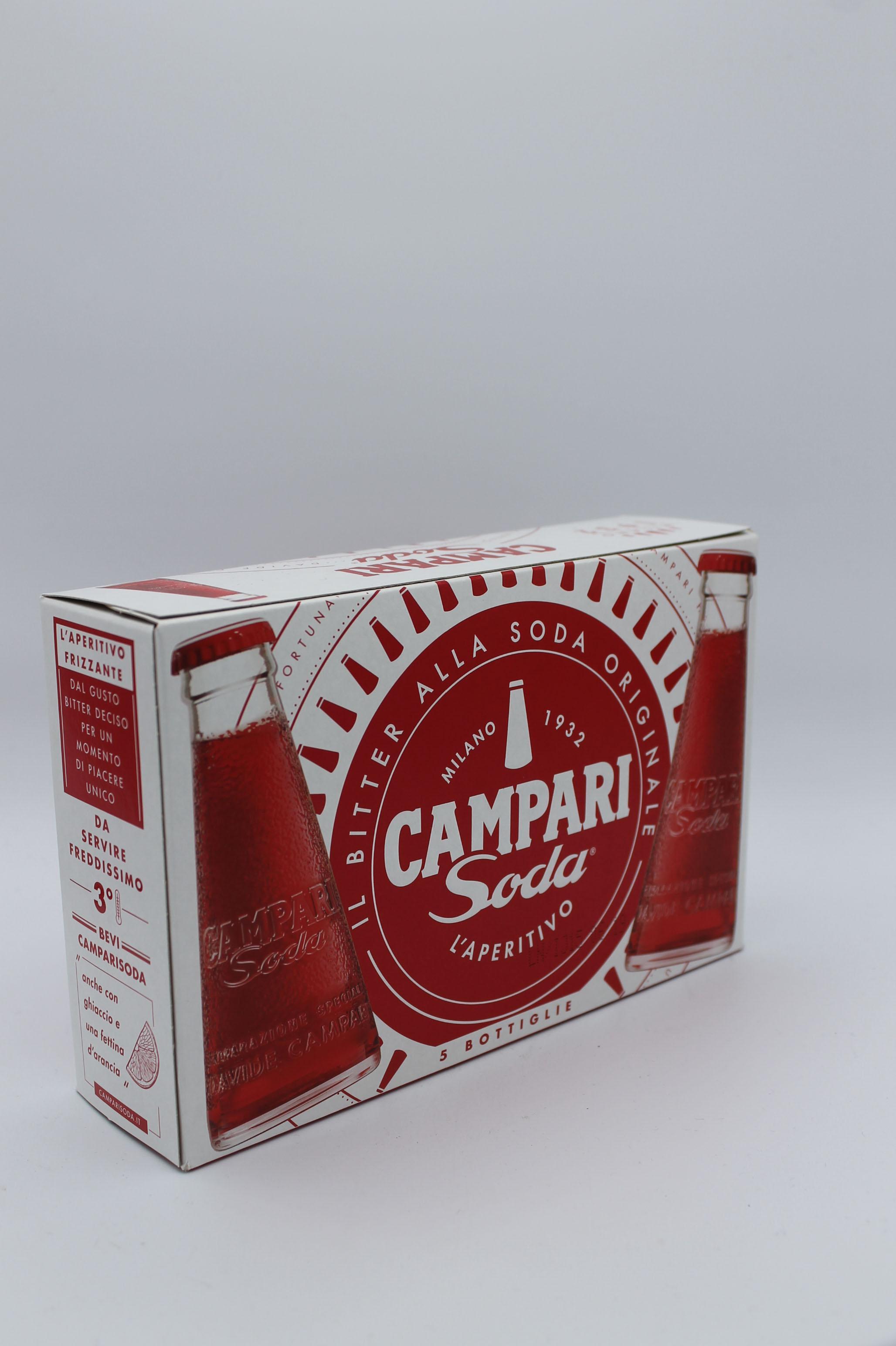 Campari soda aperitivo alcolivo 5x98ml.