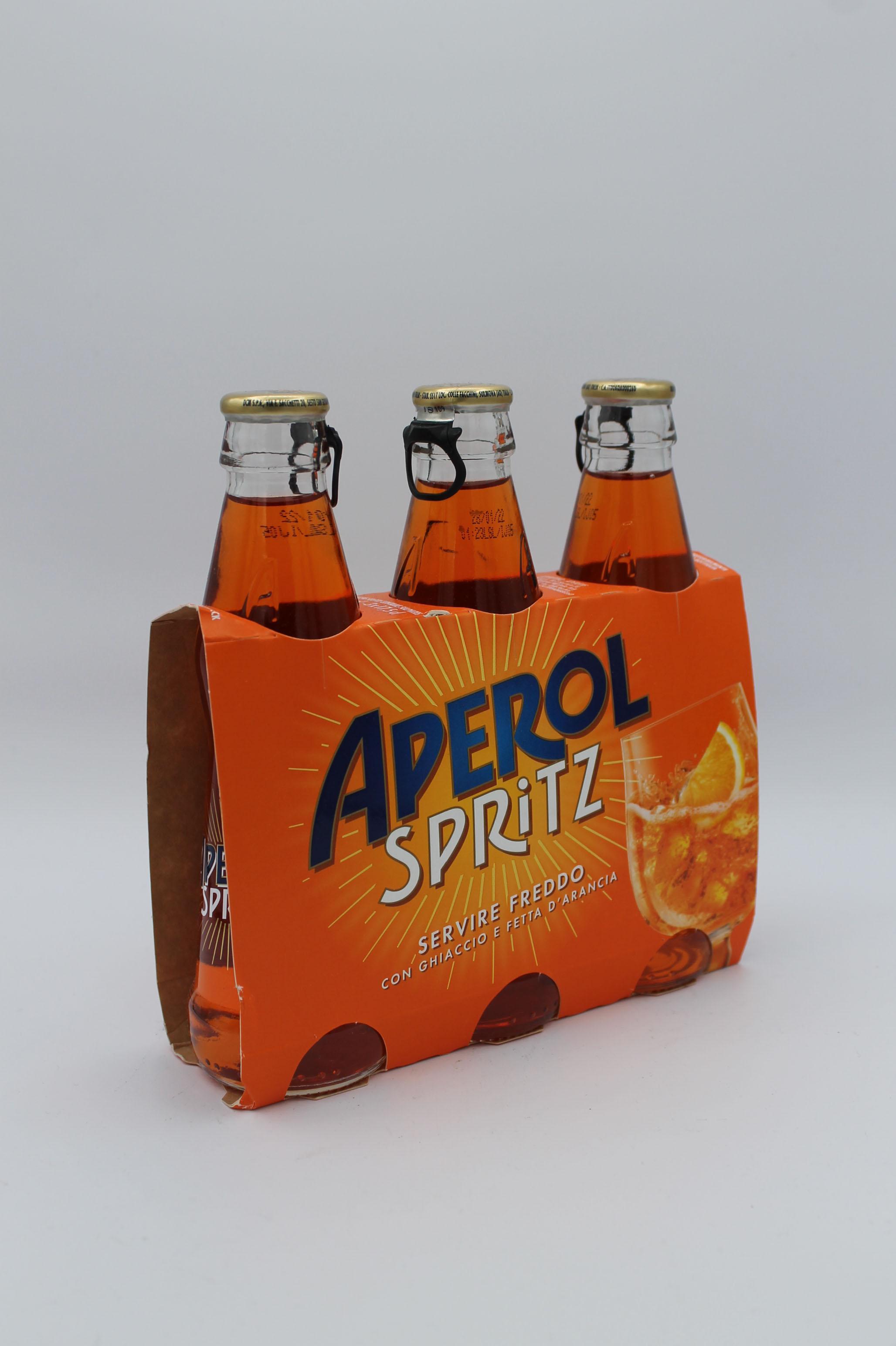 Aperol spritz bottiglie 3x175ml.