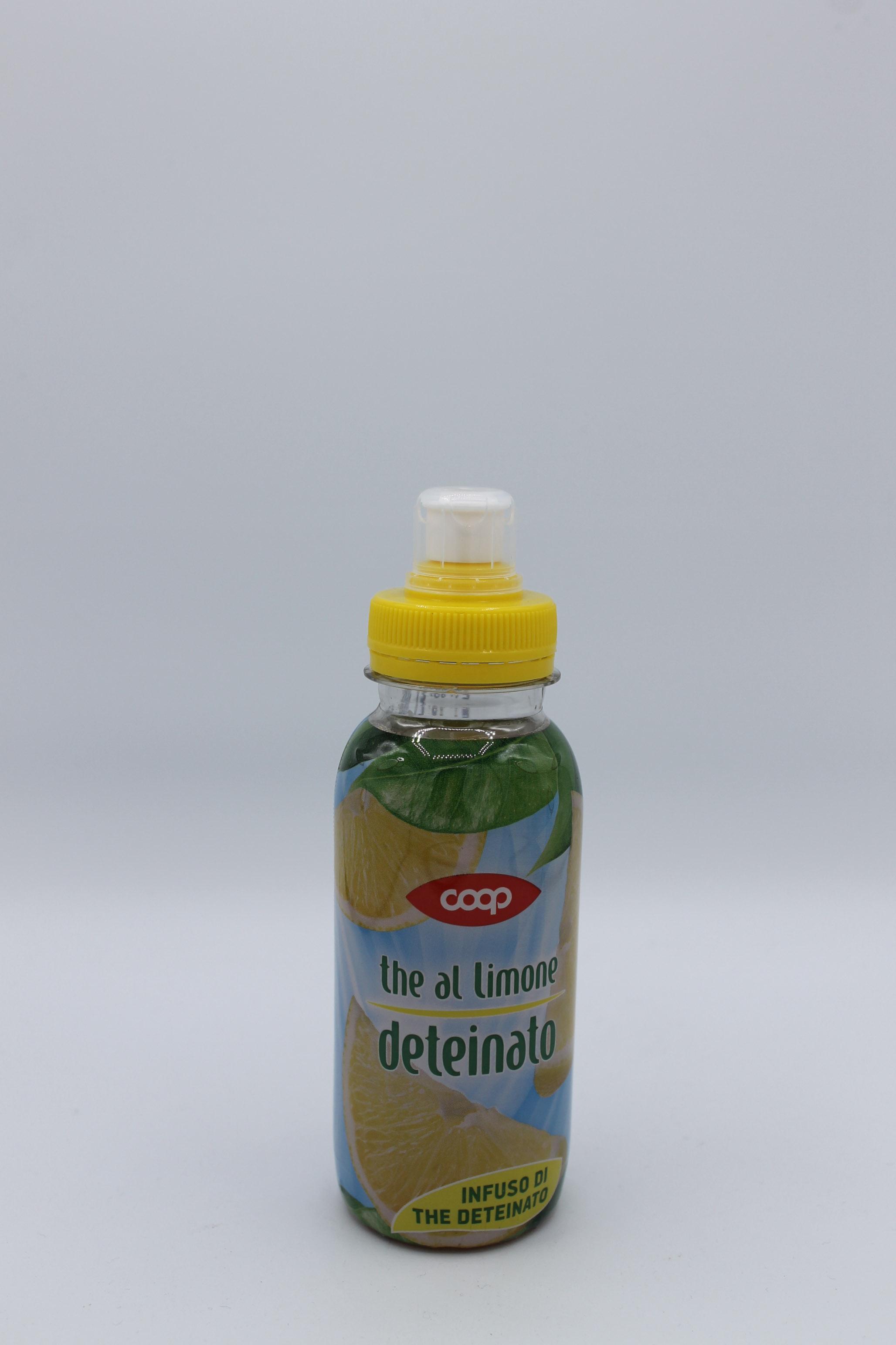 Coop thè deteinato limone 250ml.