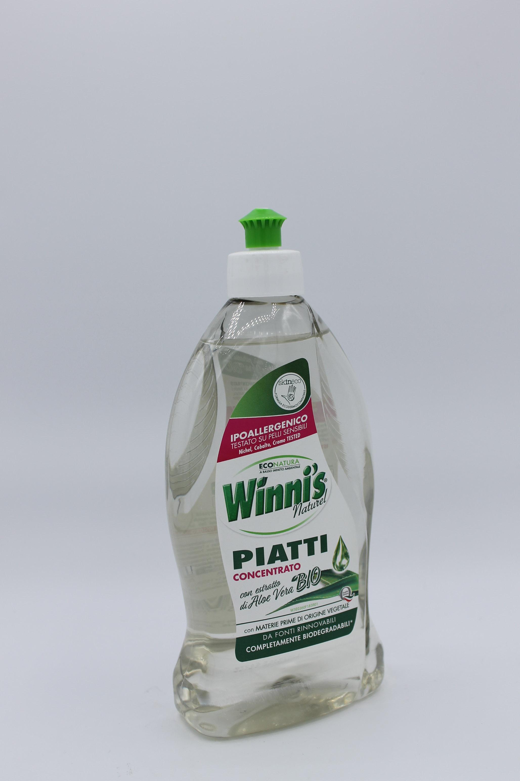 Winni's detersivo piatti aloe 500ml.