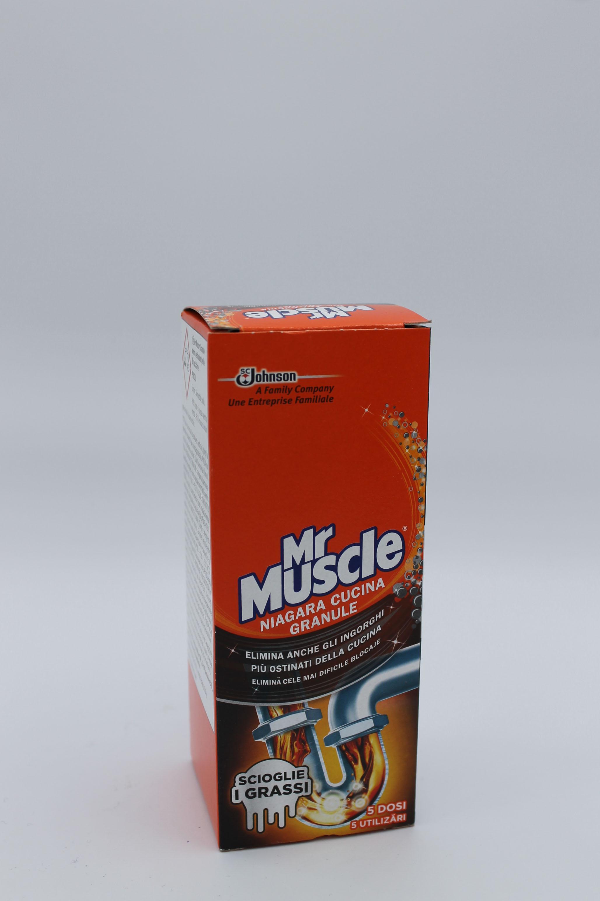 Mr Muscolo disgorgante scatola 250gr.
