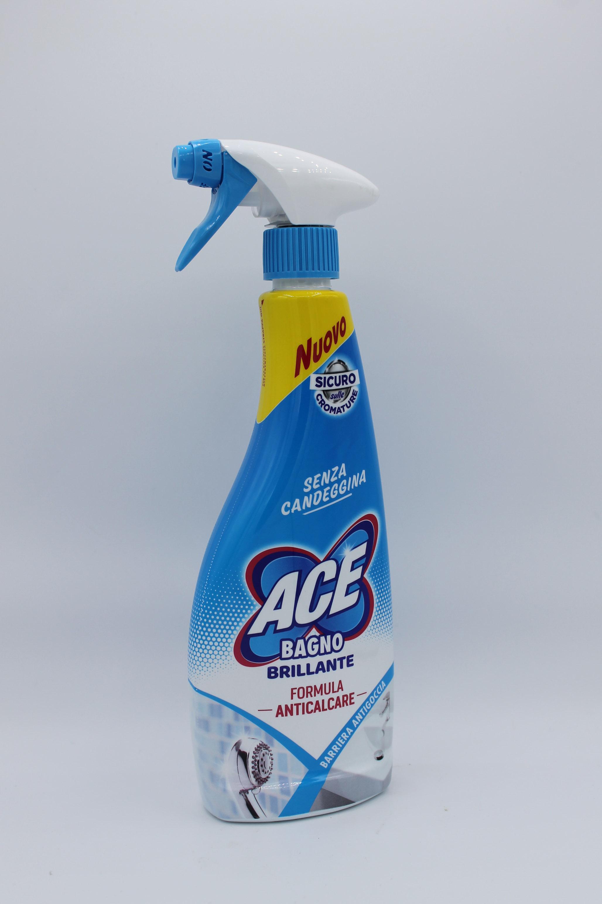 Ace detergente spray bagno 500ml.