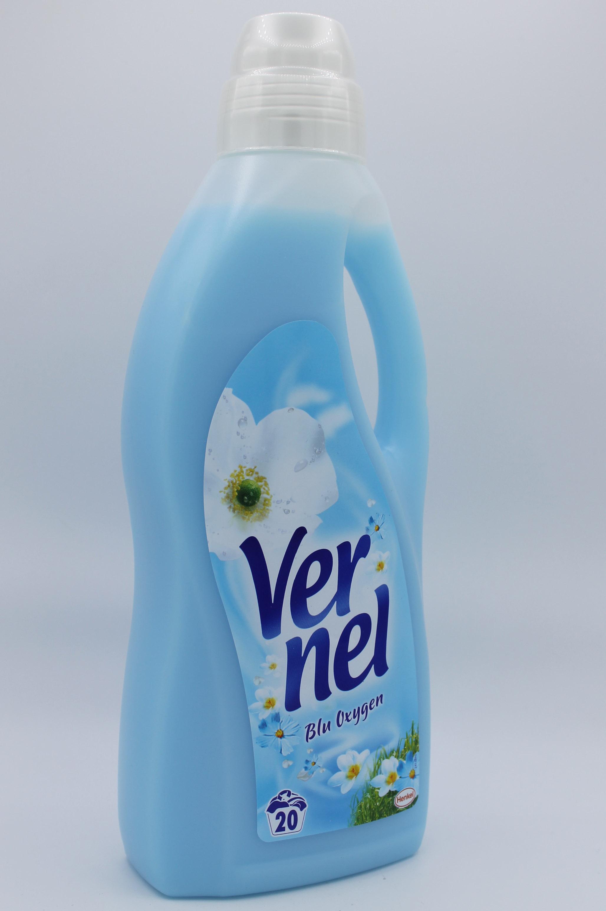 Vernel ammorbidente blu oxygen 1,5lt.