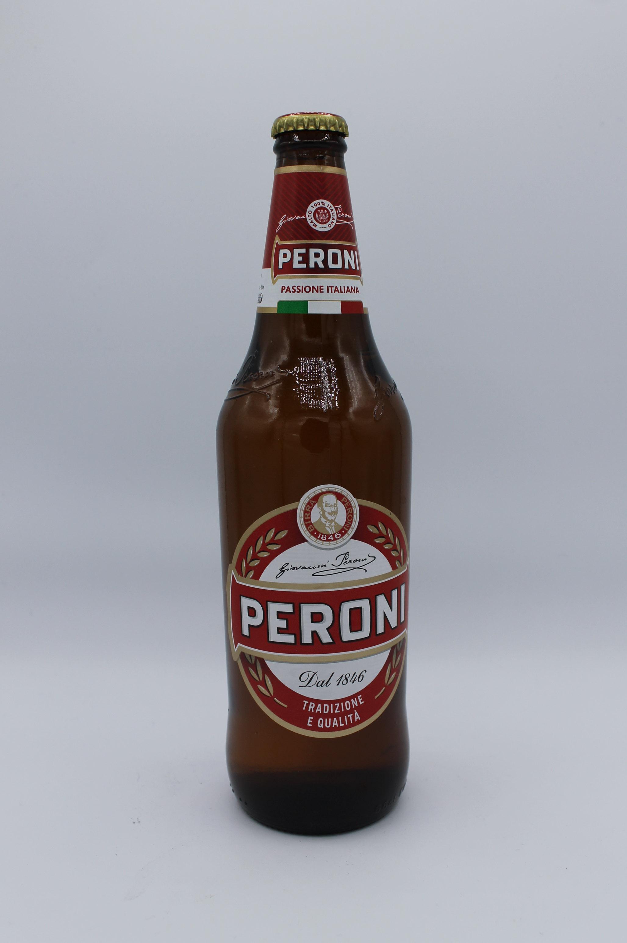 Peroni birra bottiglia 66cl.