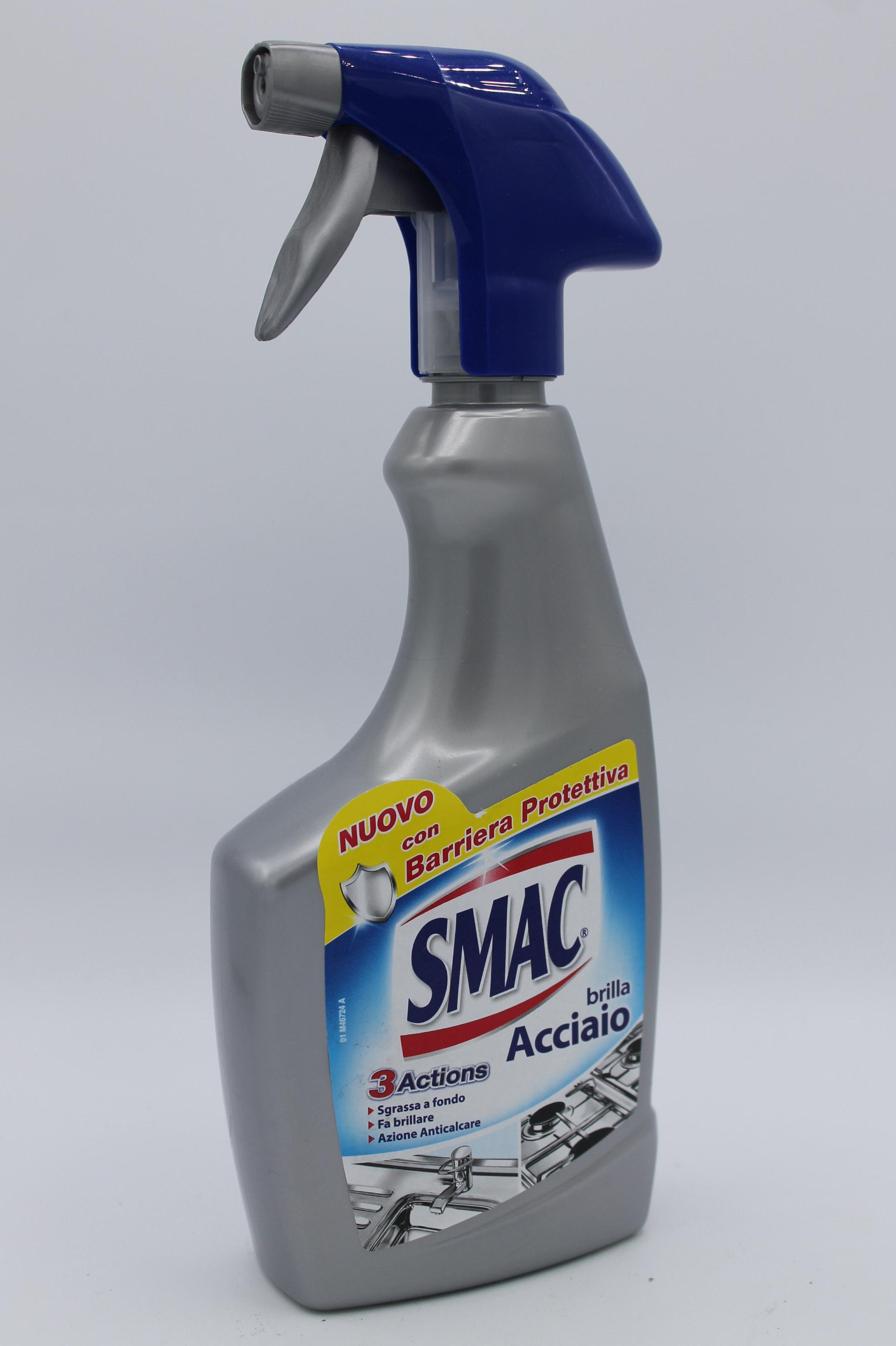 Smac brillacciaio spray 520ml.