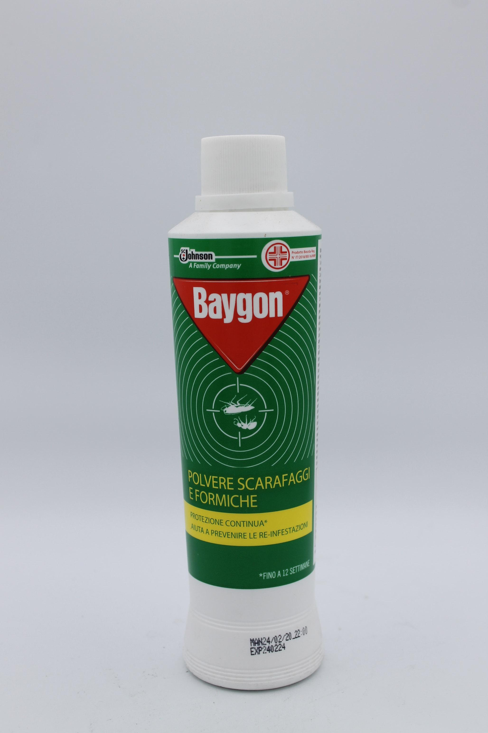 Baygon insetticida polvere scarafaggi e formiche 250gr.