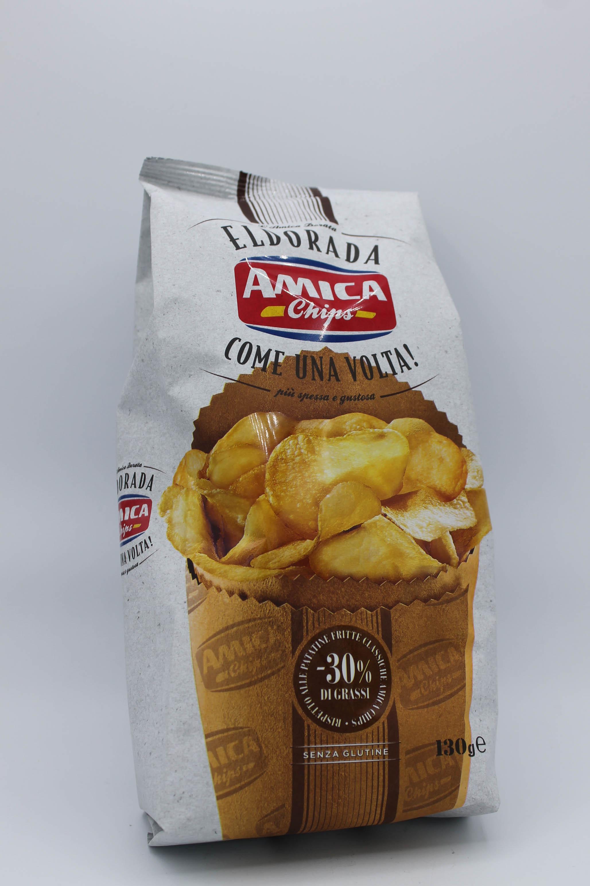 Amica Chips patatine eldorada 130gr.