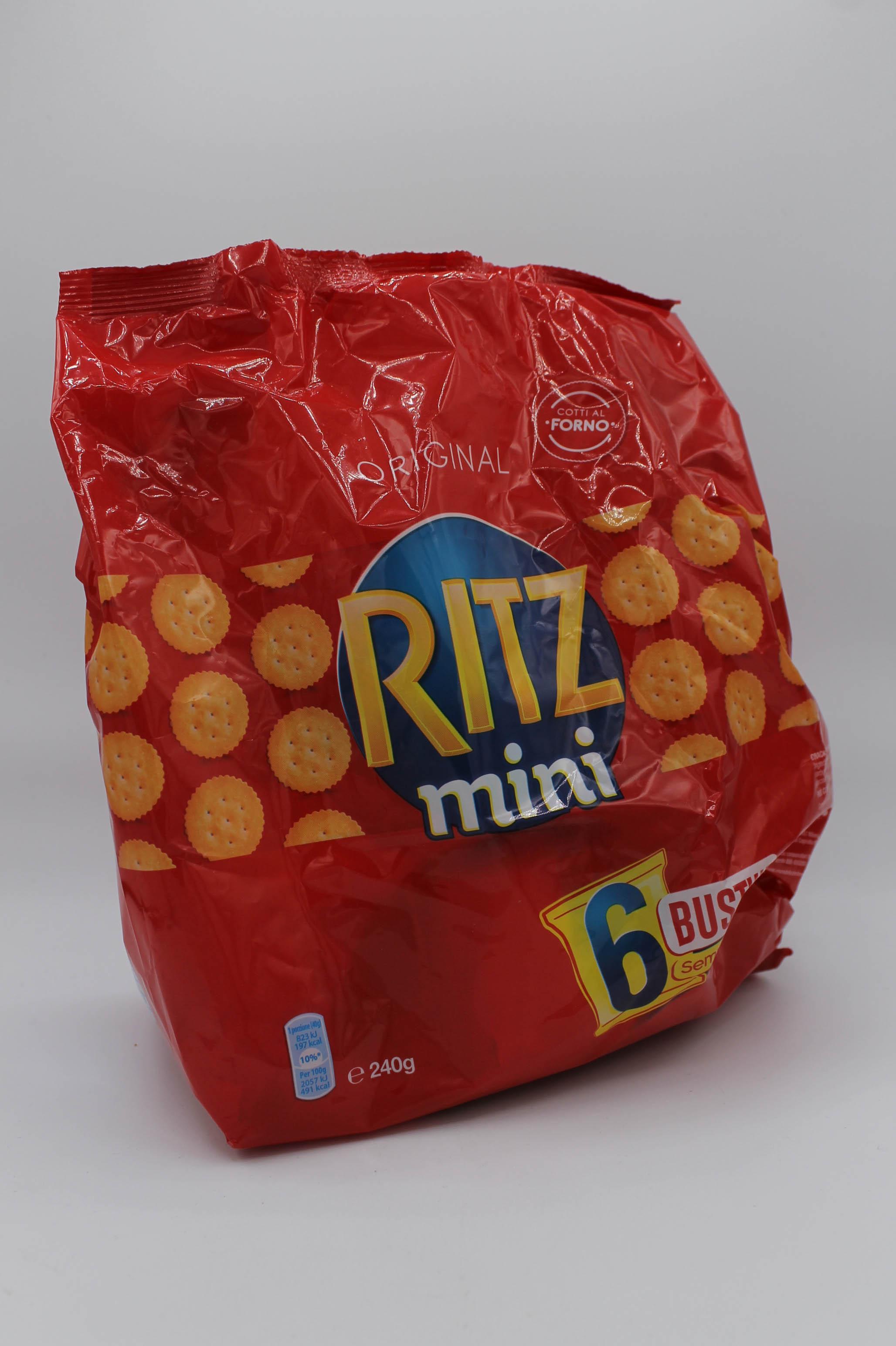 Ritz mini multipack 6 buste 240gr.
