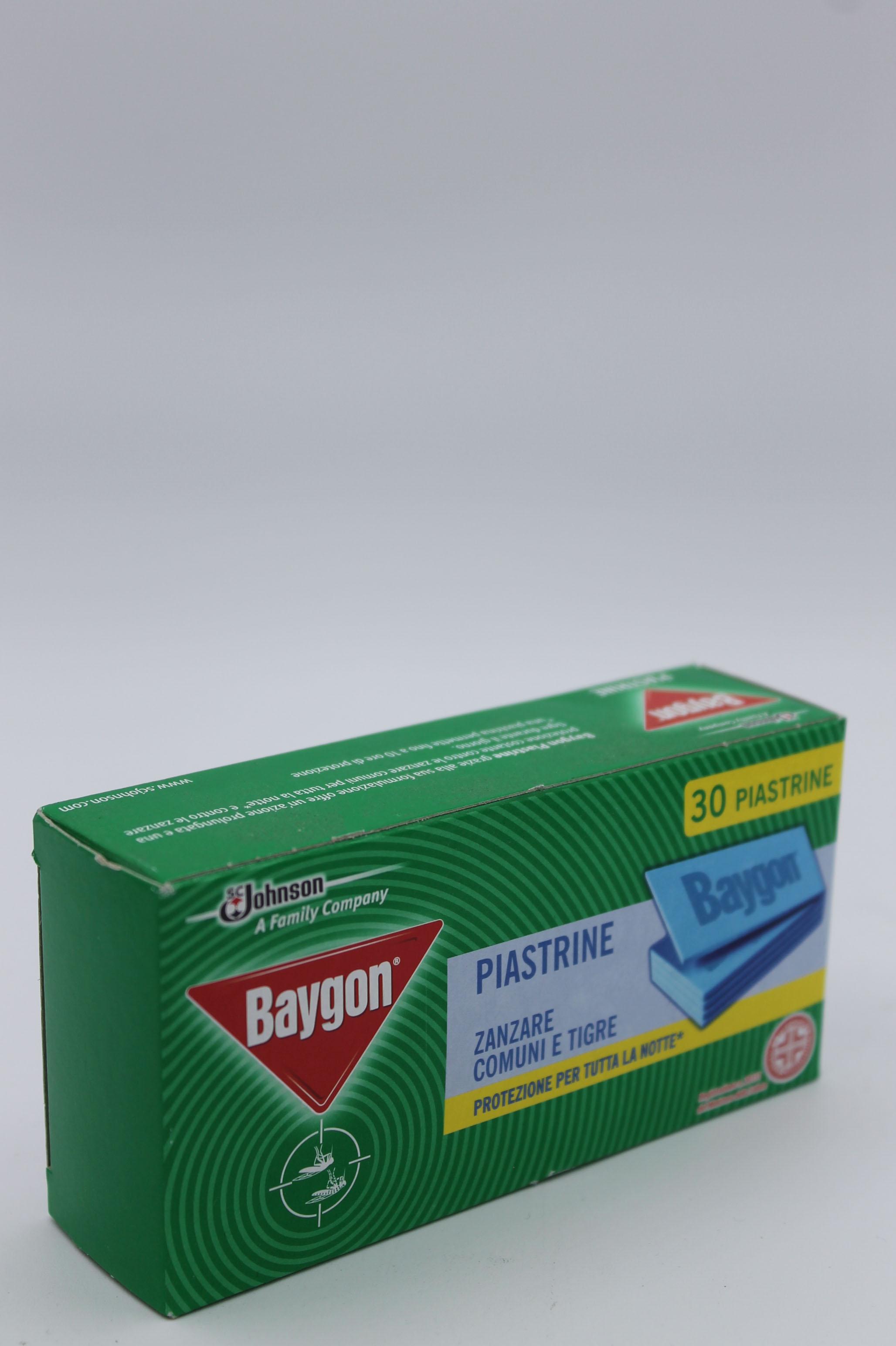 Baygon piastrine anti zanzare 30pz.