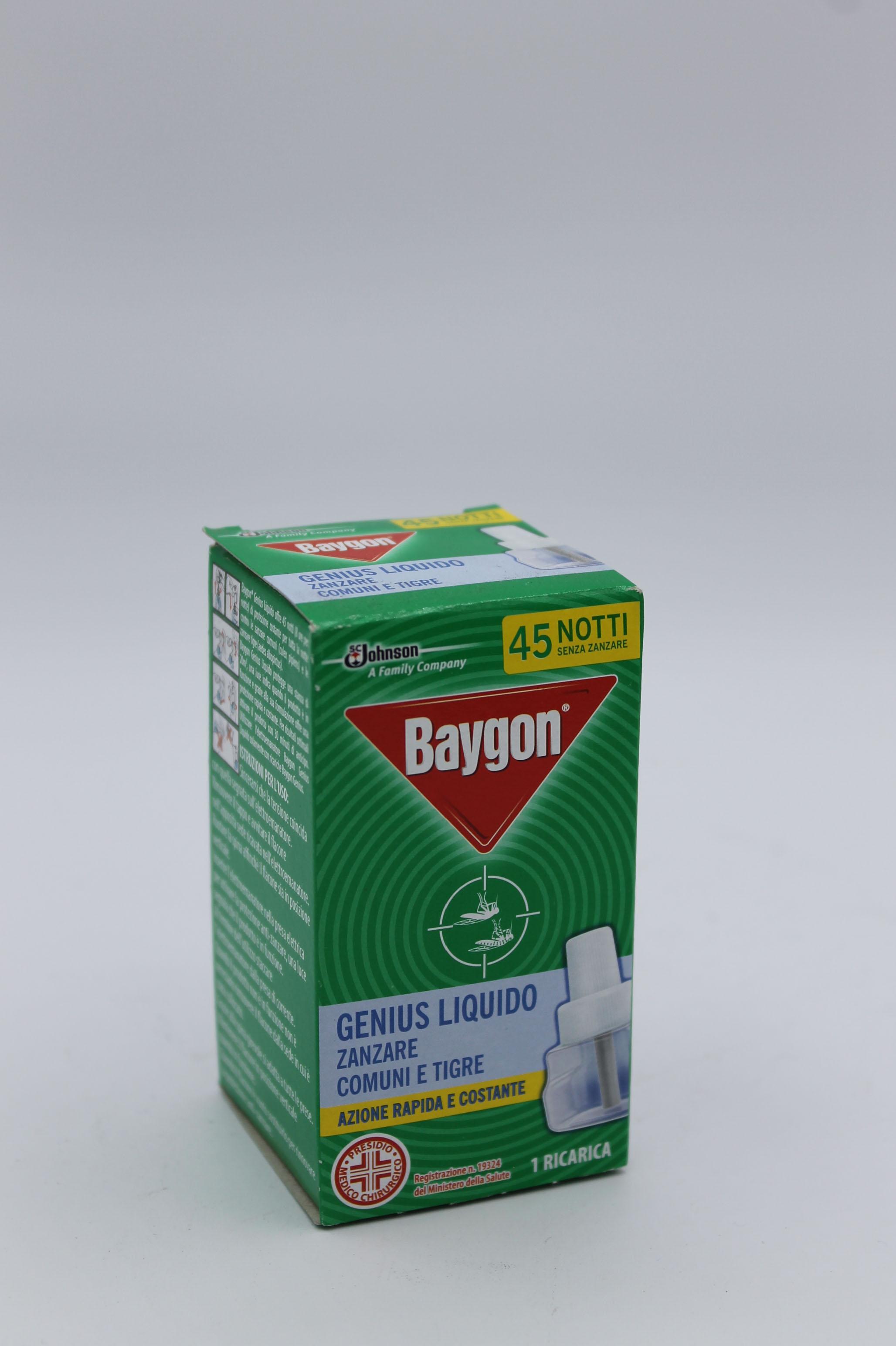 Baygon ricarica liquida per anti zanzare 1pz.
