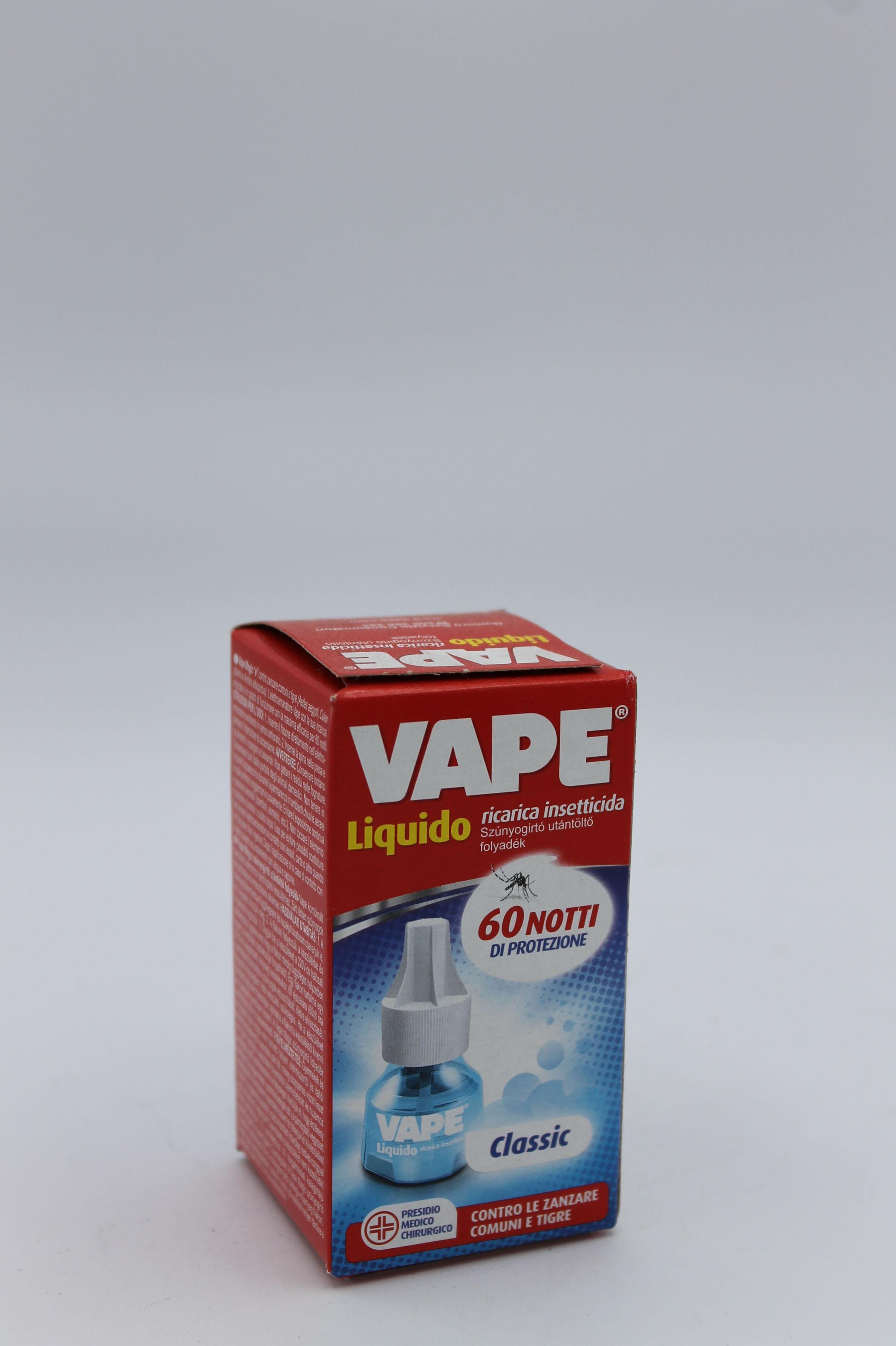 Vape ricarica liquida anti zanzare 1pz.