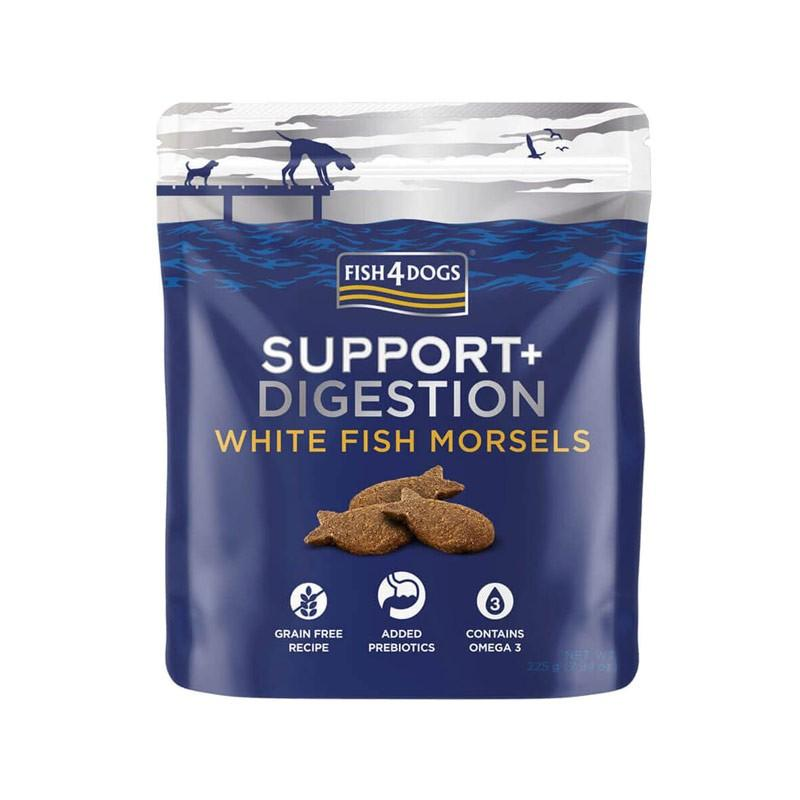 White fish morsels support digestion+