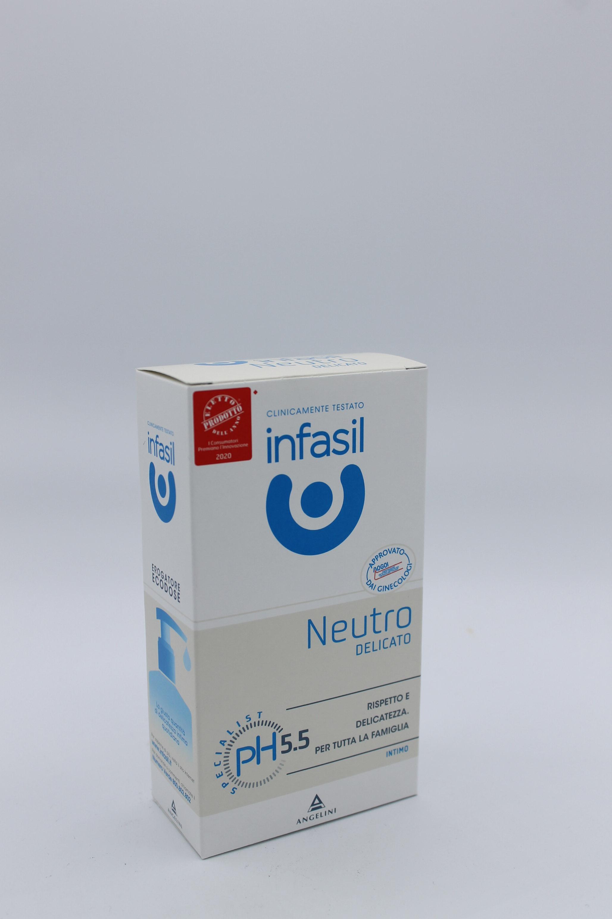 Infasil detergente intimo neutro 200ml.