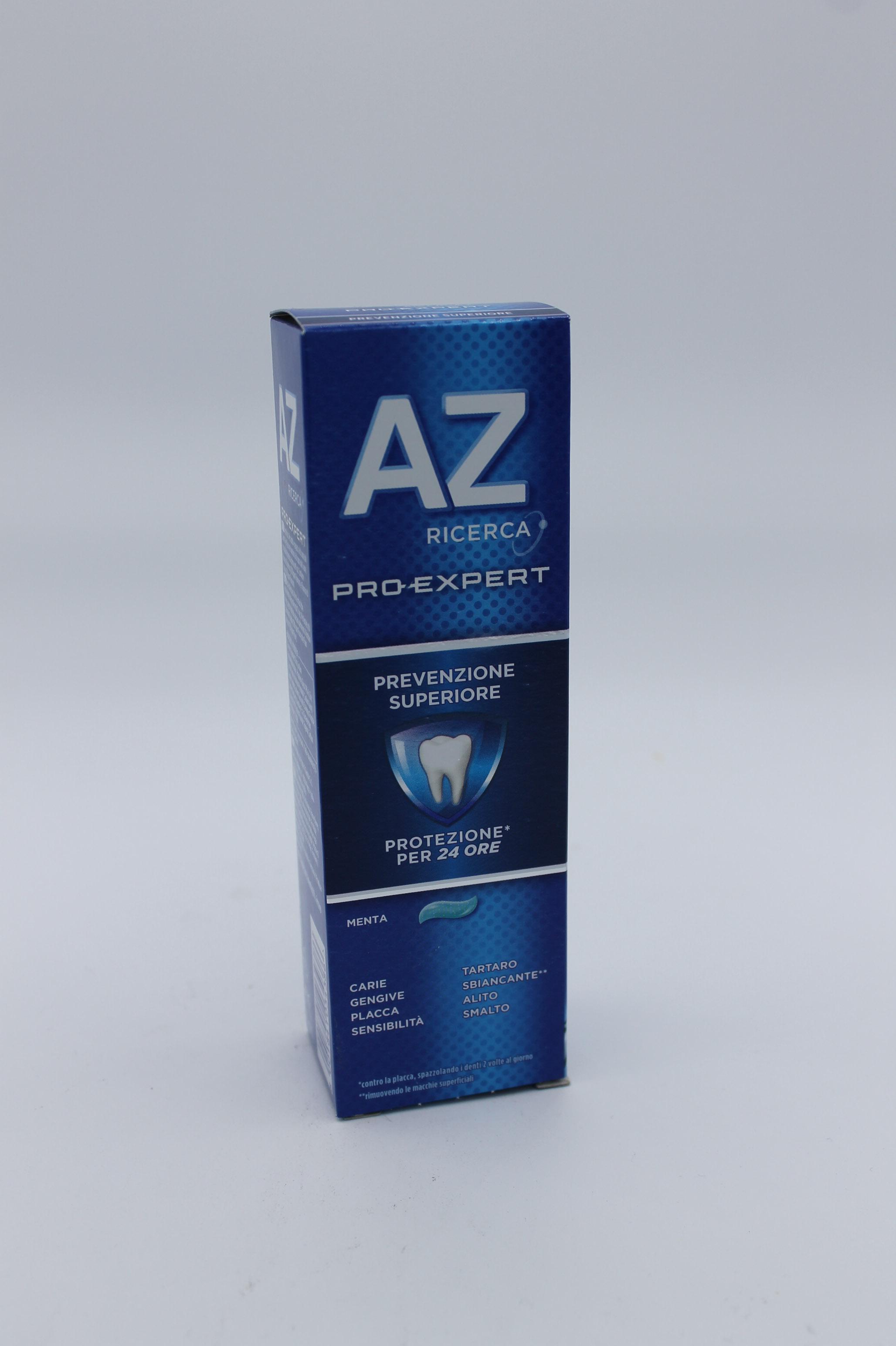 AZ pro-expert dentifricio prevenzione superiore 75ml.
