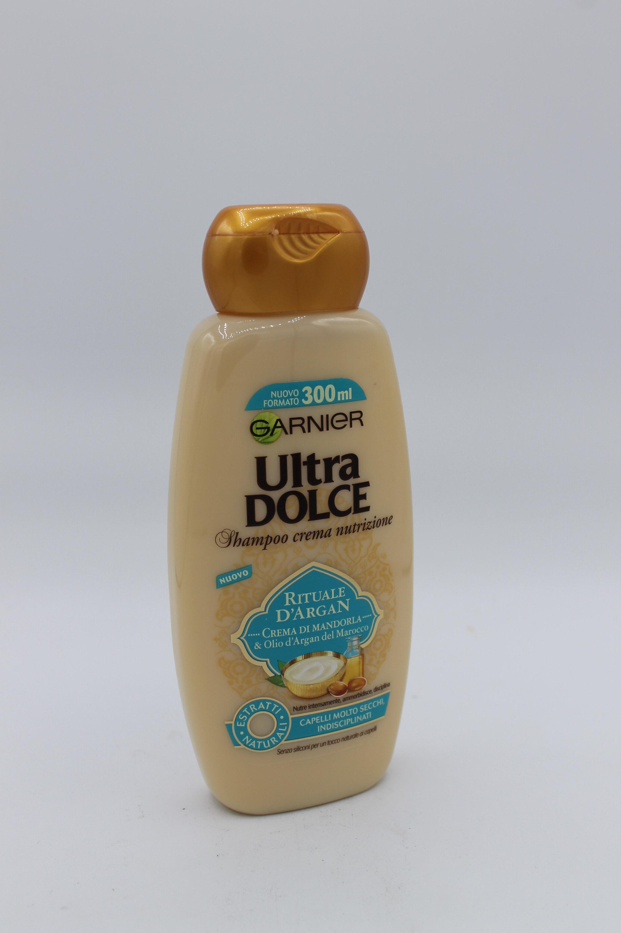Garnier shampoo ultra dolce olio argan 300ml.