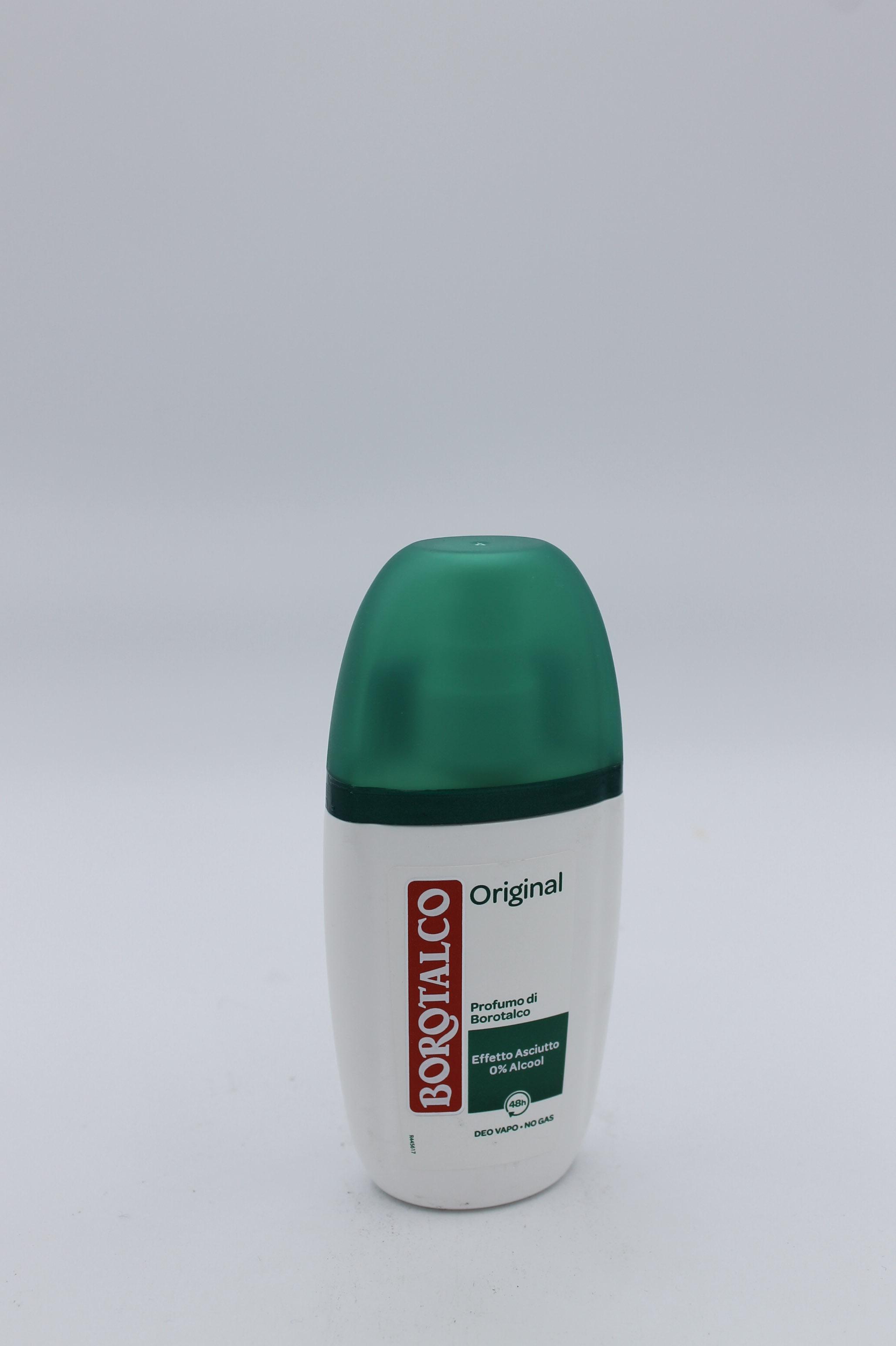 Borotalco deodorante vapo original 75ml.