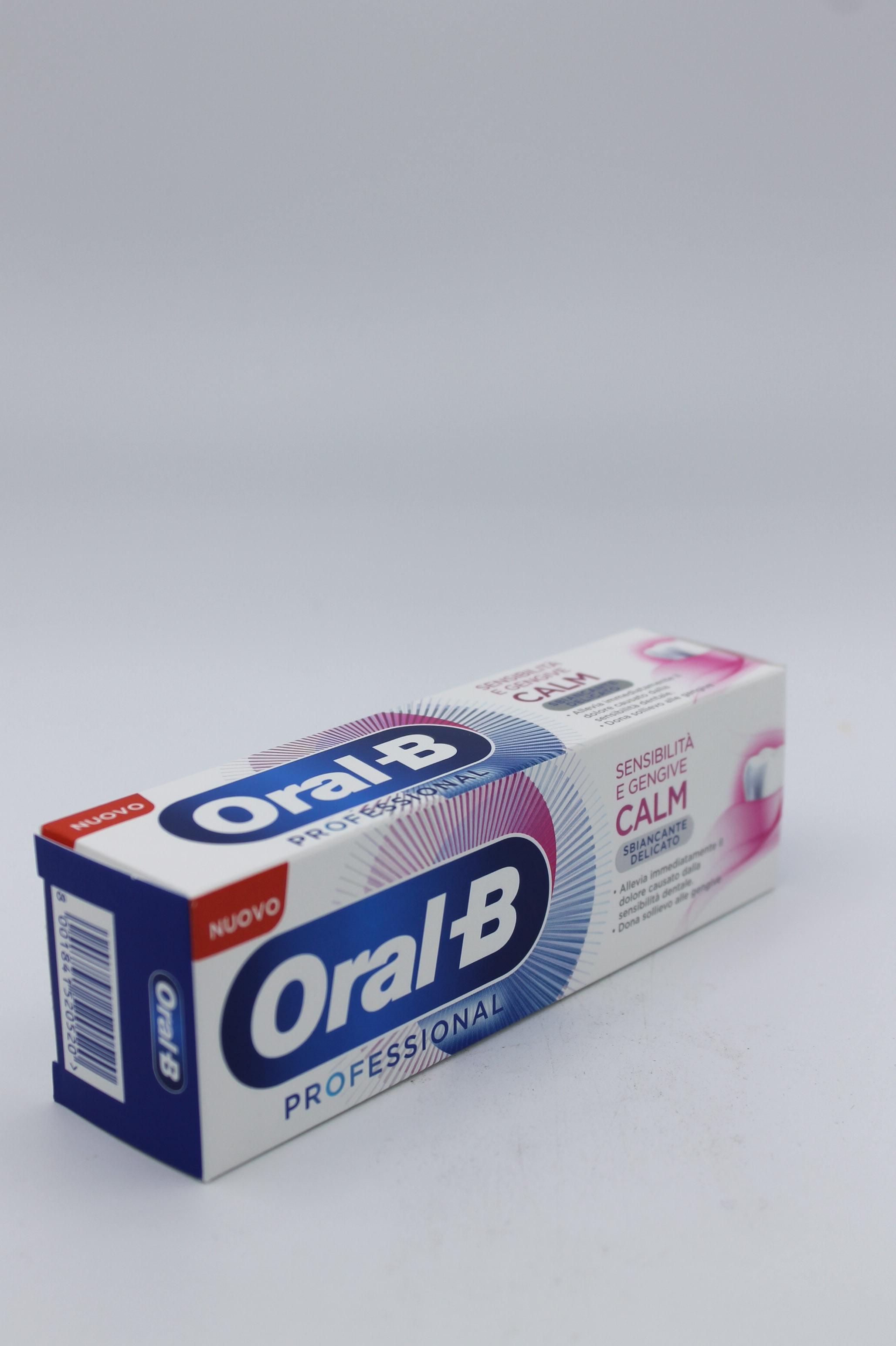Oral B dentifricio tubo 75ml vari tipi.