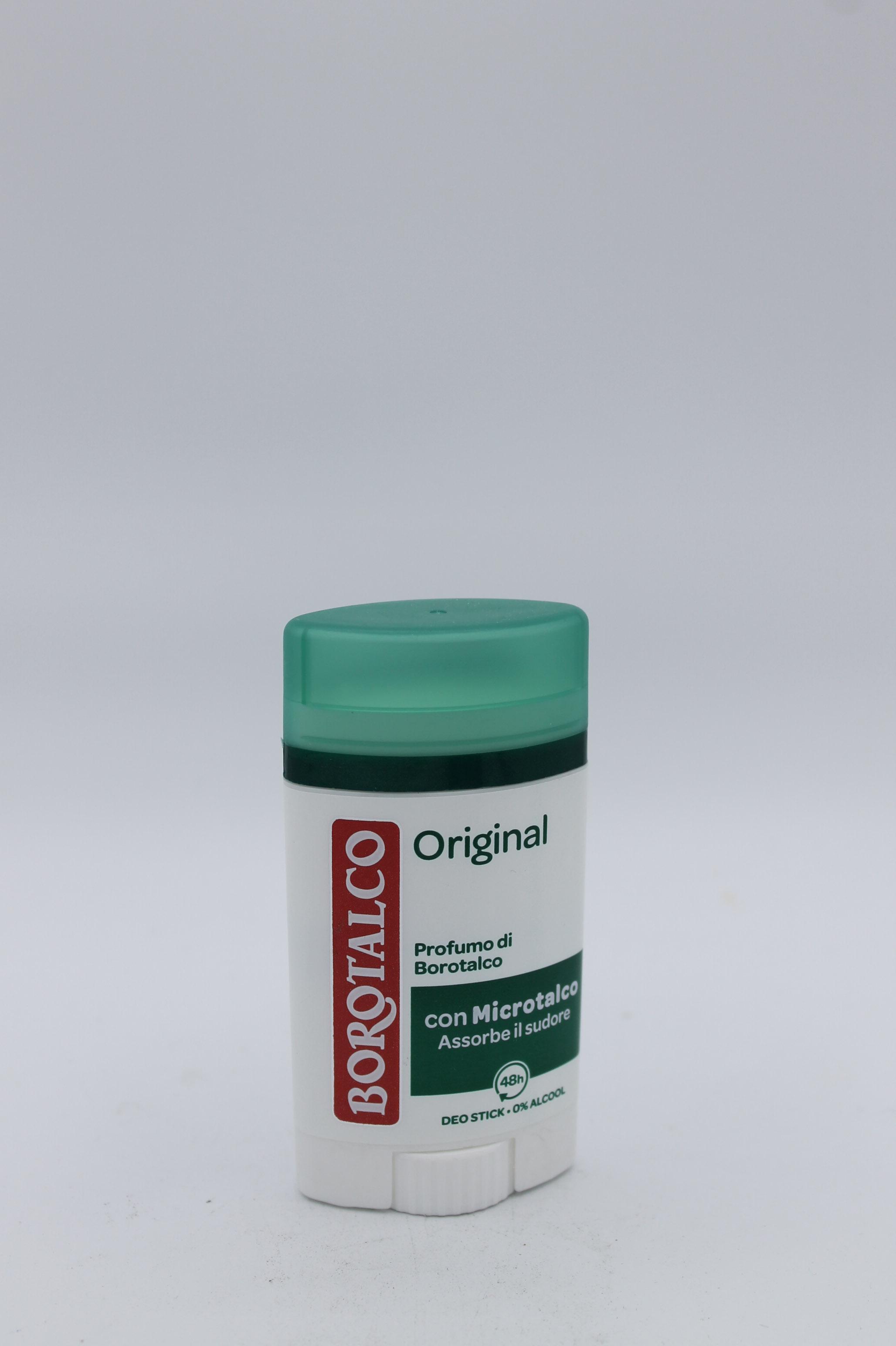 Borotalco original stick 40ml.