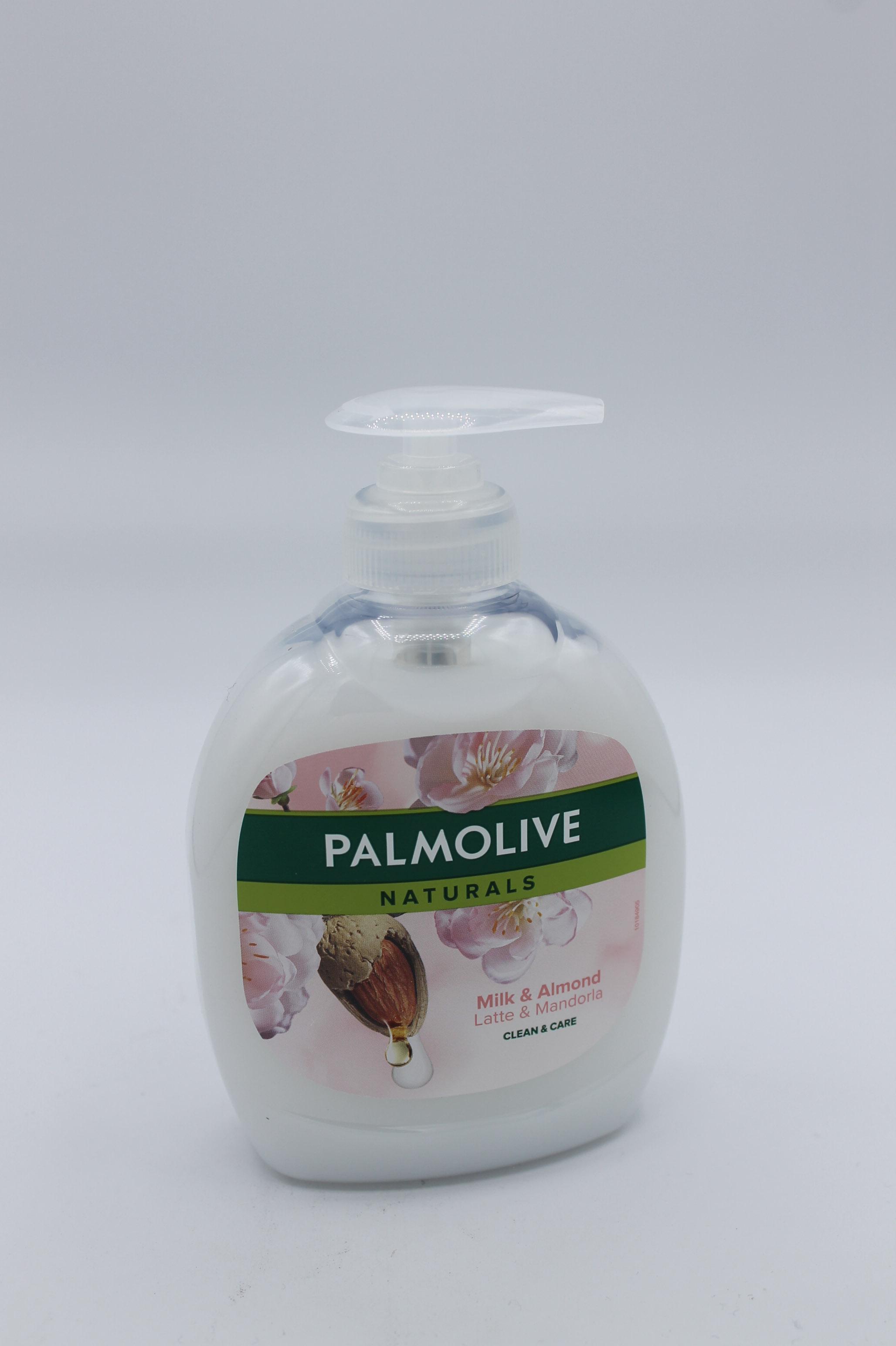 Palmolive sapone liquido latte e mandorla 300ml.