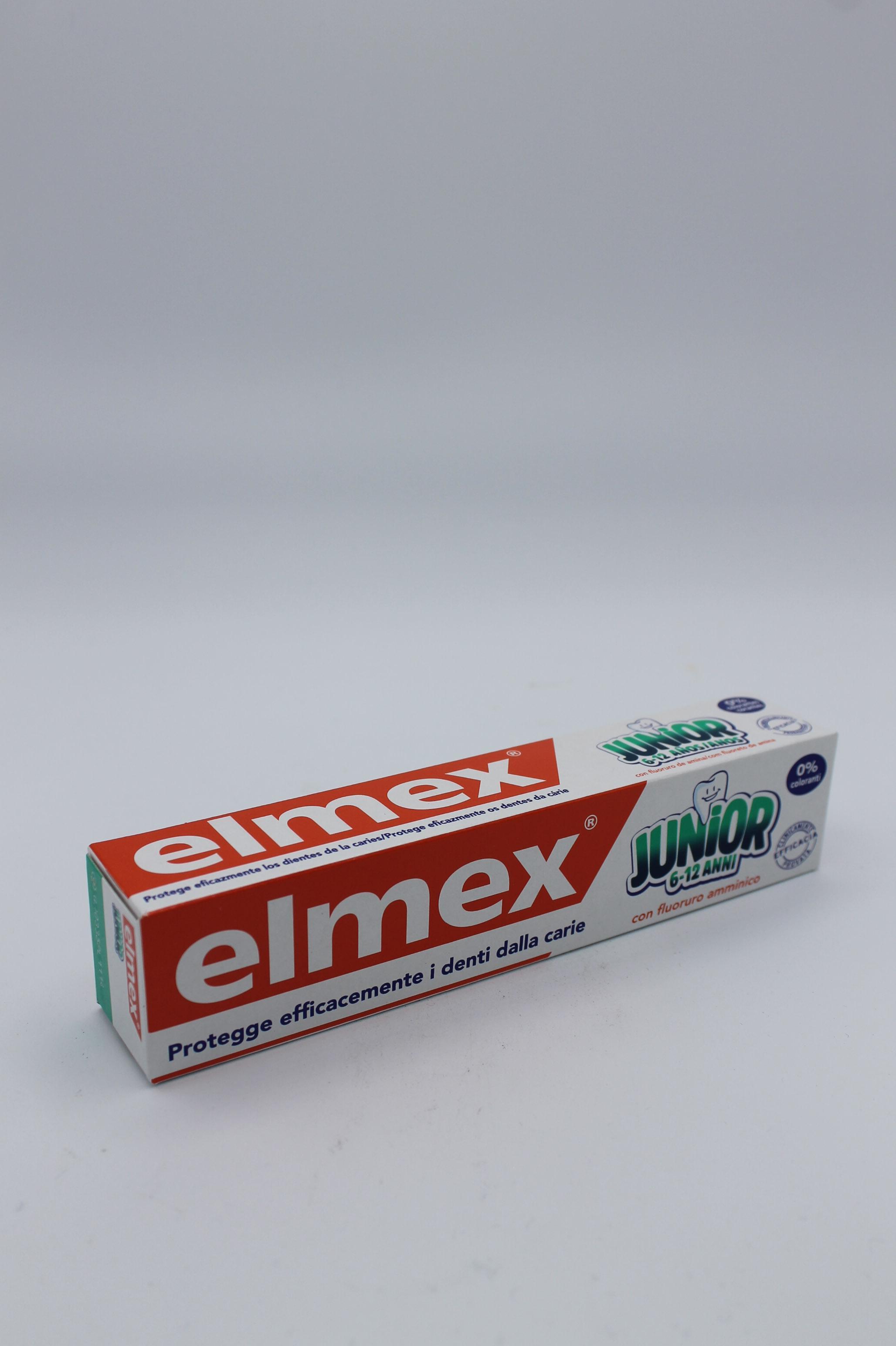 Elmex dentifricio junior tubo 75ml.