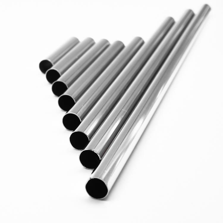 Copritubo distanziale L200 mm cromo lucido Ø13 spessore 1 mm