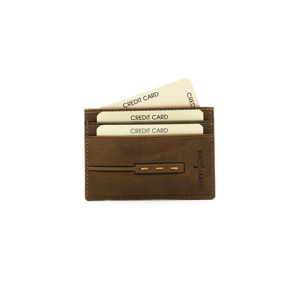 Porta carte di credito da uomo Gianni Conti GC967188