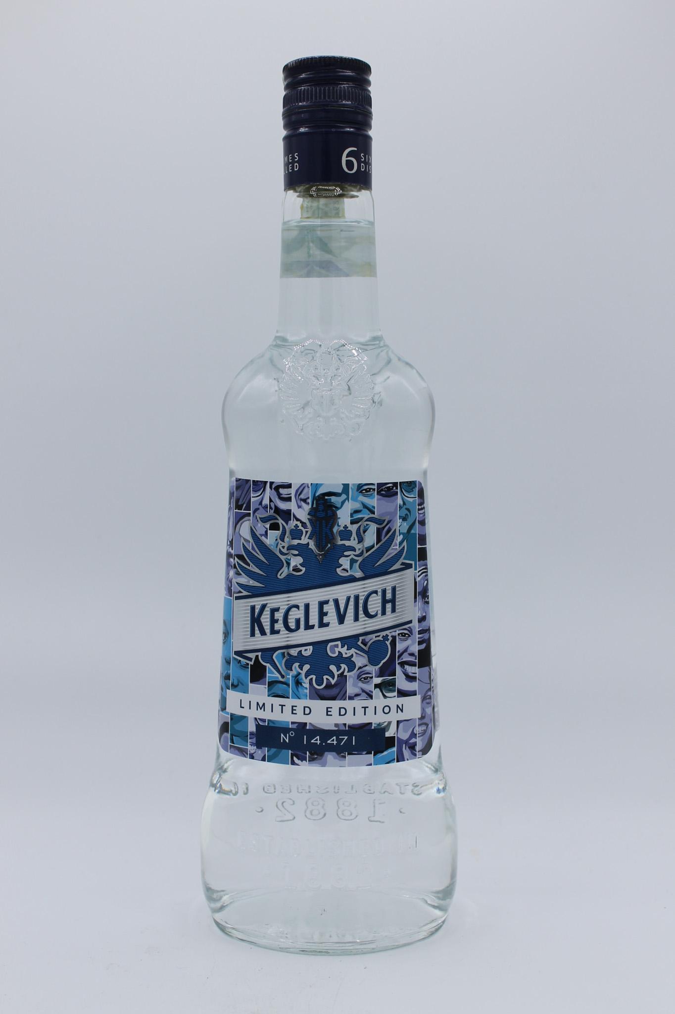 Keglevich vodka 700ml vari gusti.