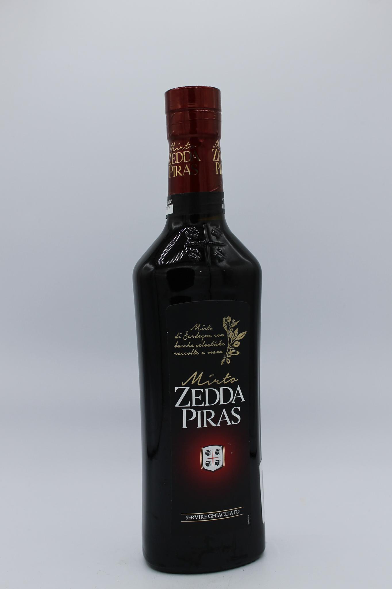 Zedda Piras mirto rosso 500ml.