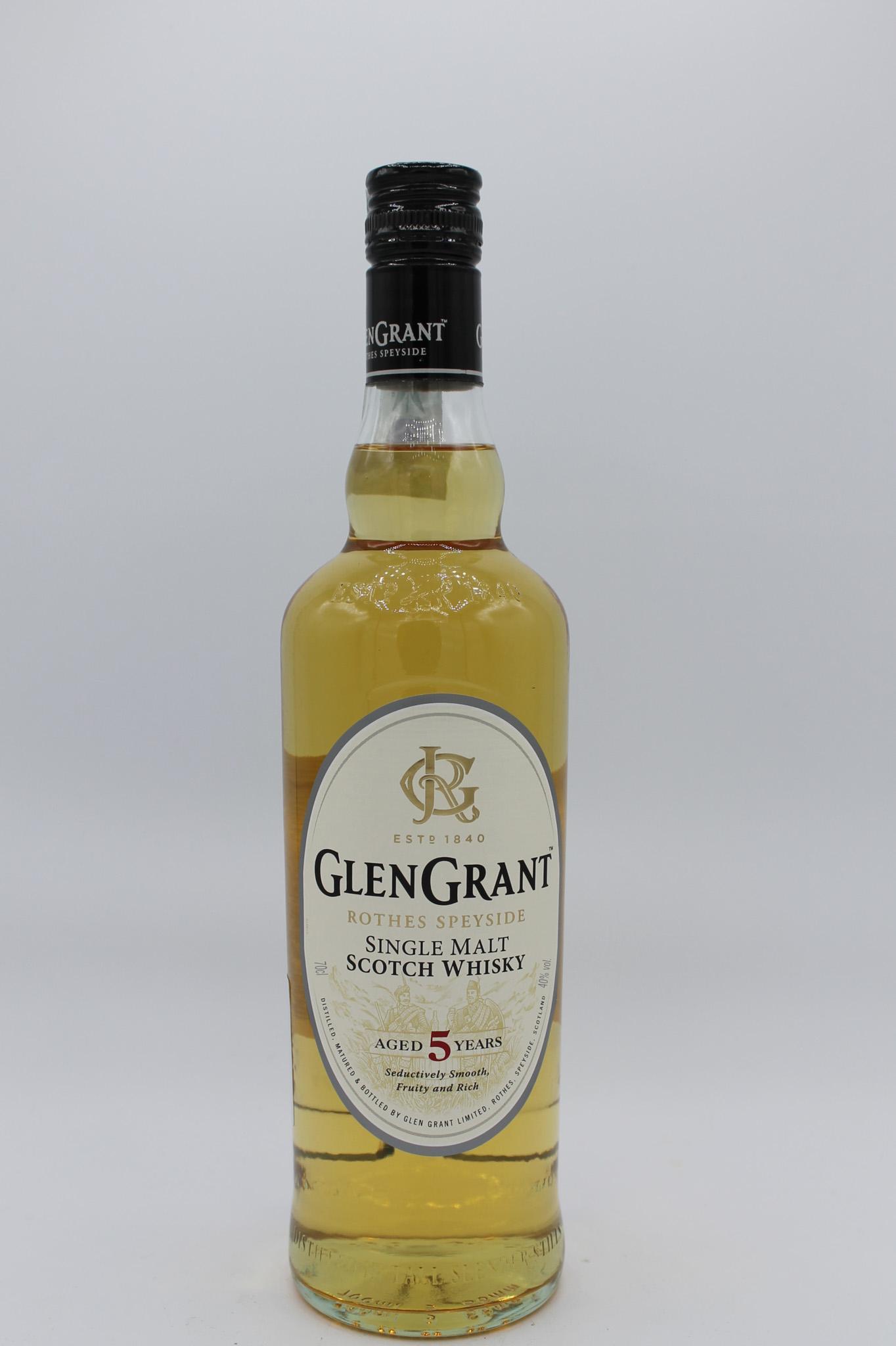 Whisky glen grant 5 anni 700ml.